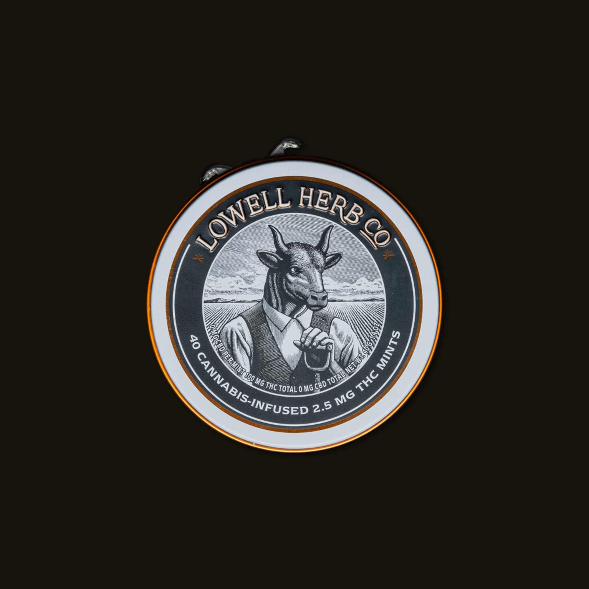 Mints - 40 mints (100mg THC)