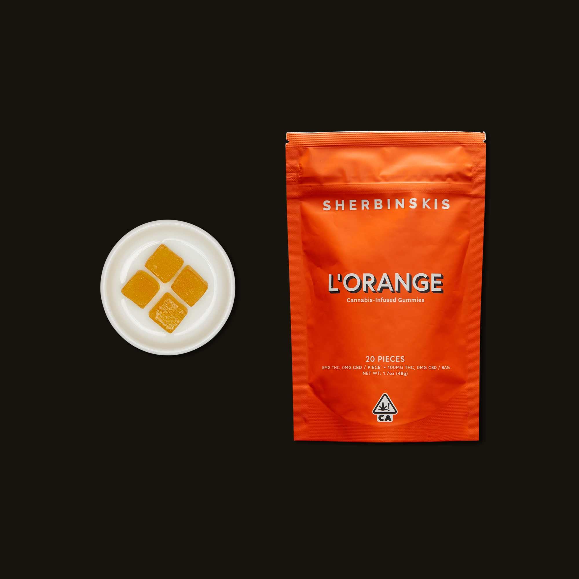 Sherbinskis L'Orange Gummies