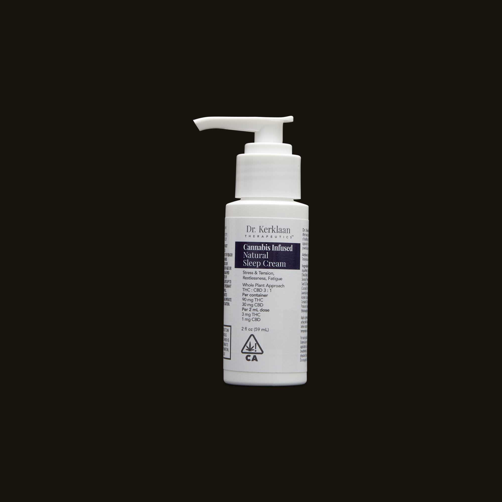 Dr. Kerklaan Natural Sleep Cream