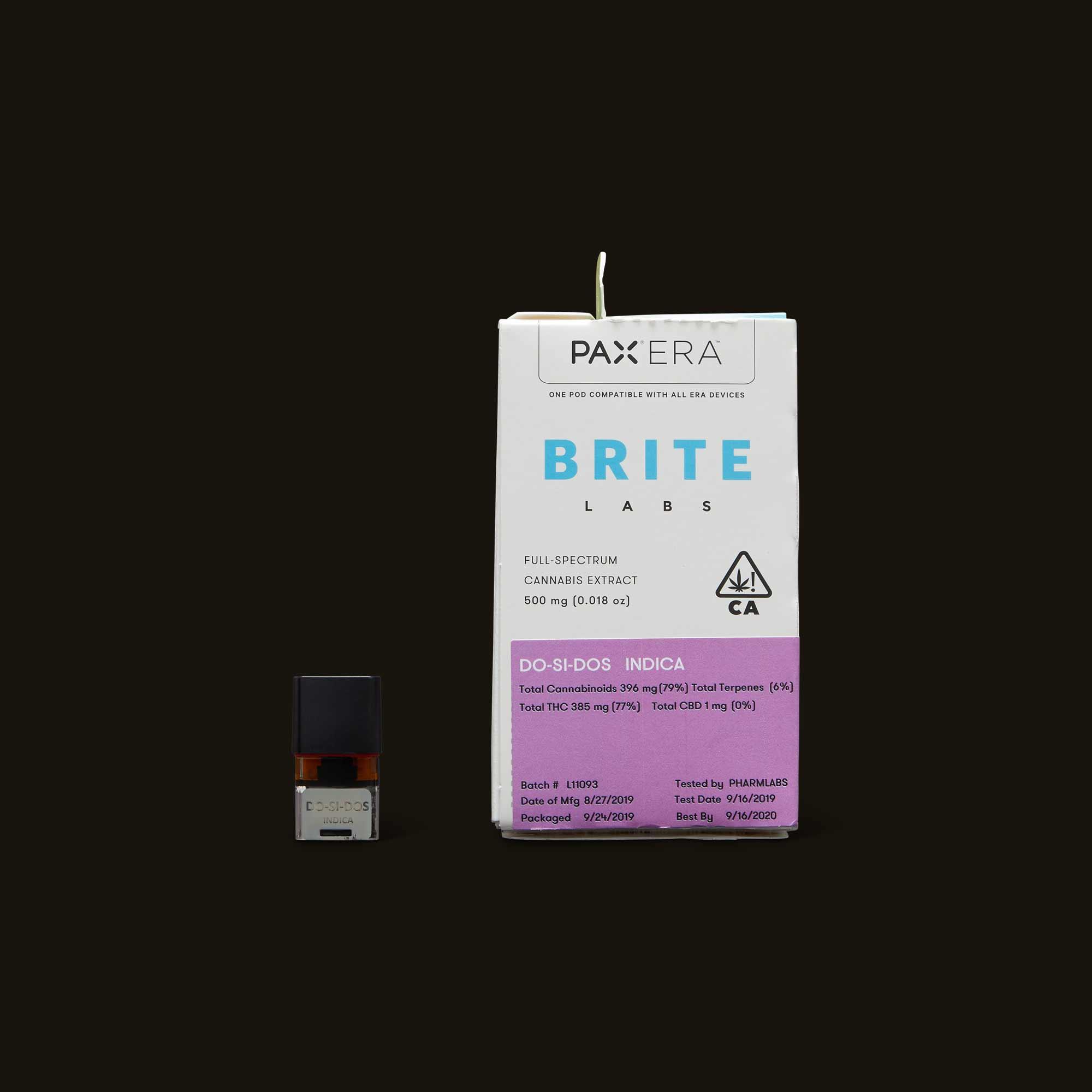 Brite Labs Do-Si-Dos PAX Era Pod