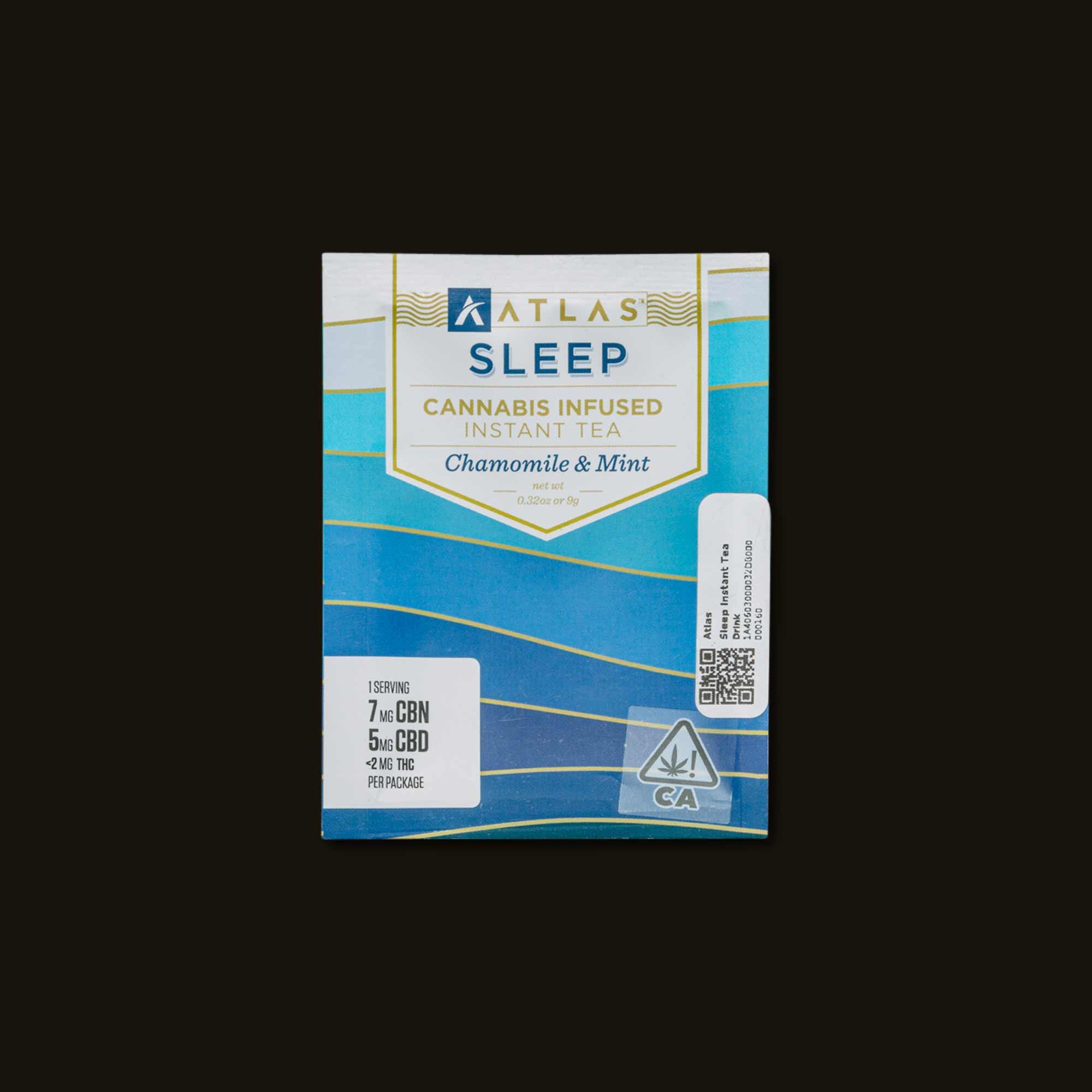 Atlas Edibles Sleep Instant Tea