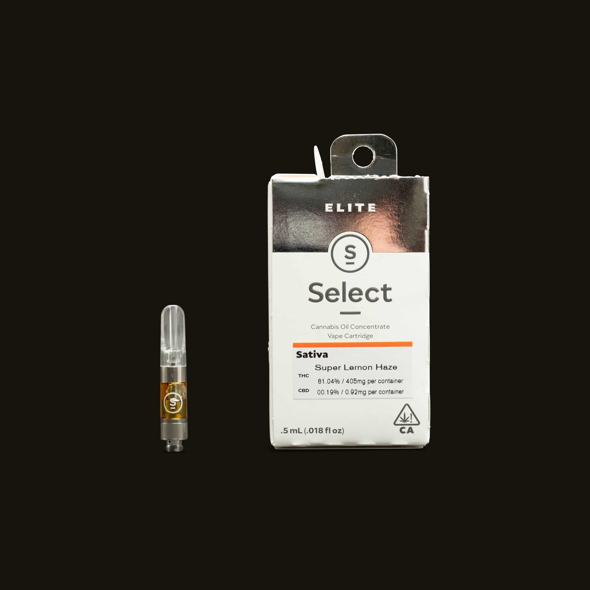 Select Super Lemon Haze Cartridge