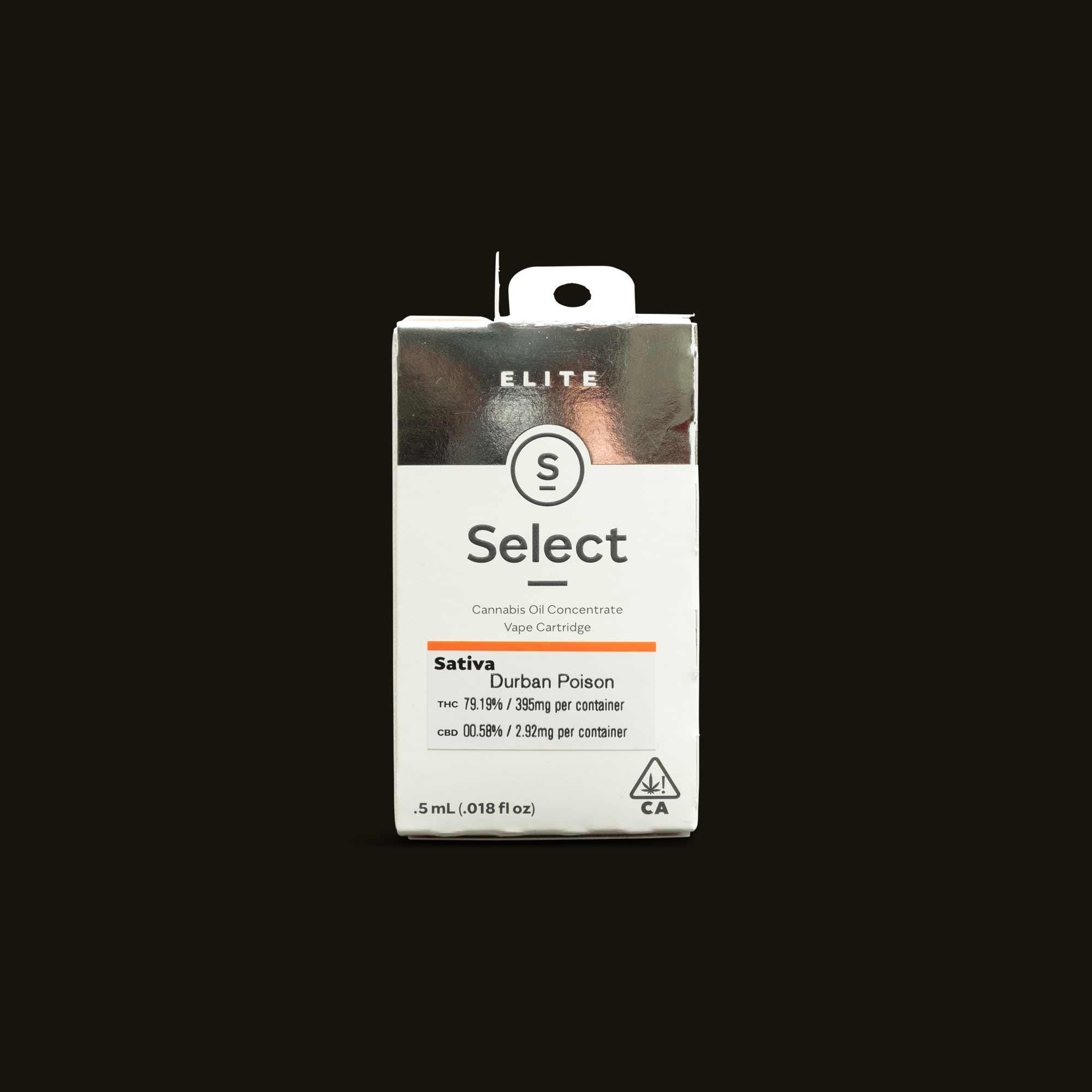 Select Durban Poison Cartridge