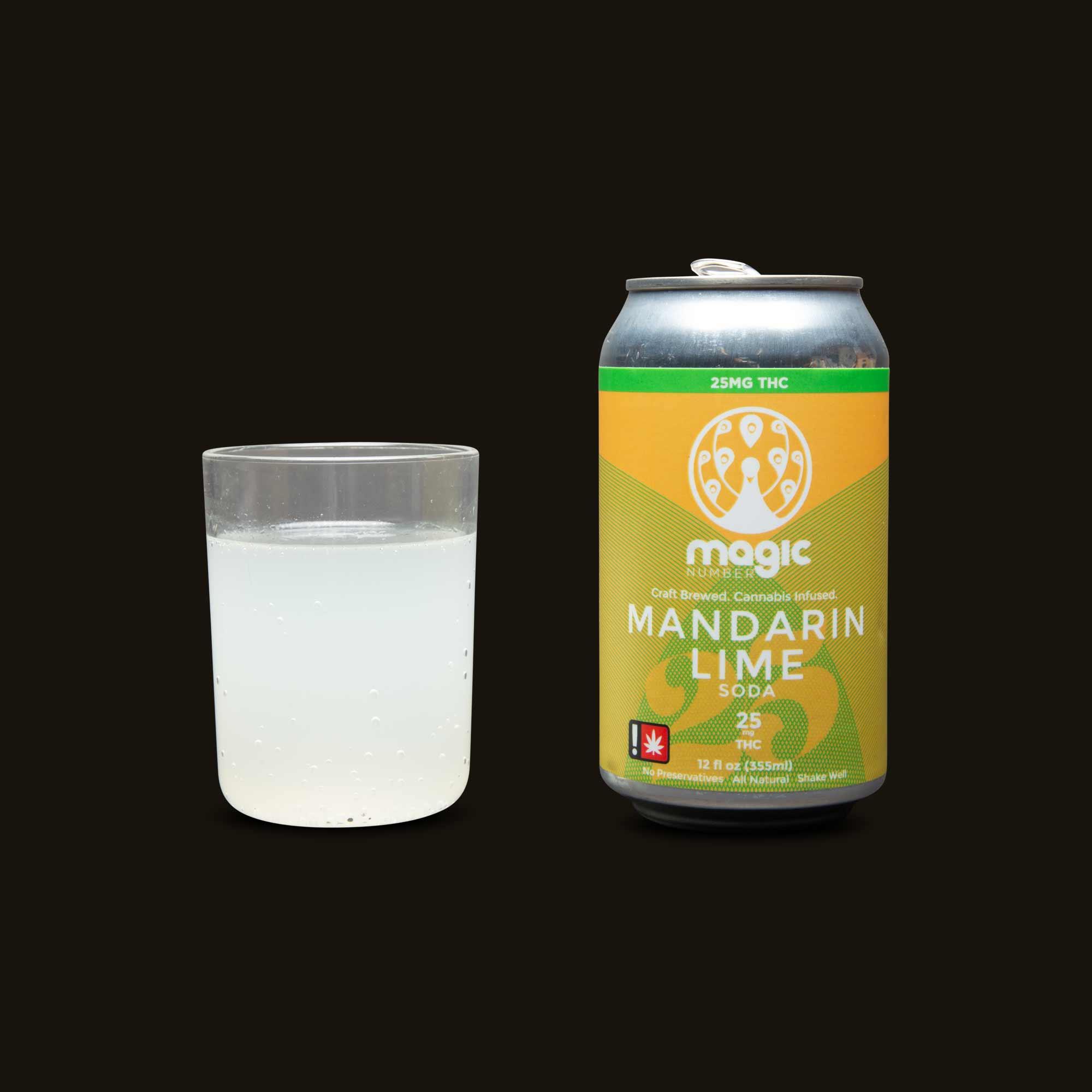 Magic Number Mandarin Lime Soda