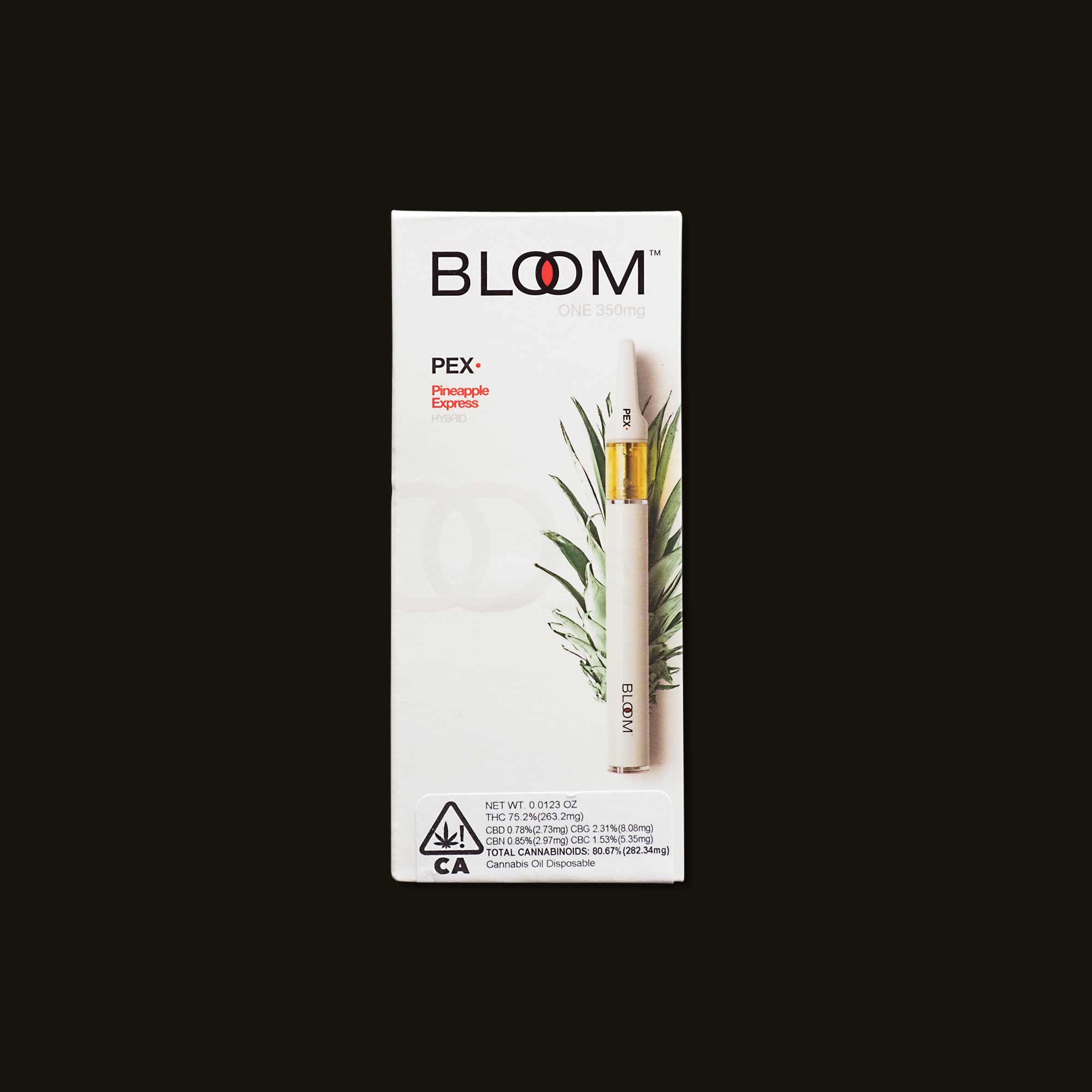 Pineapple Express Bloom One - 350mg disposable pen