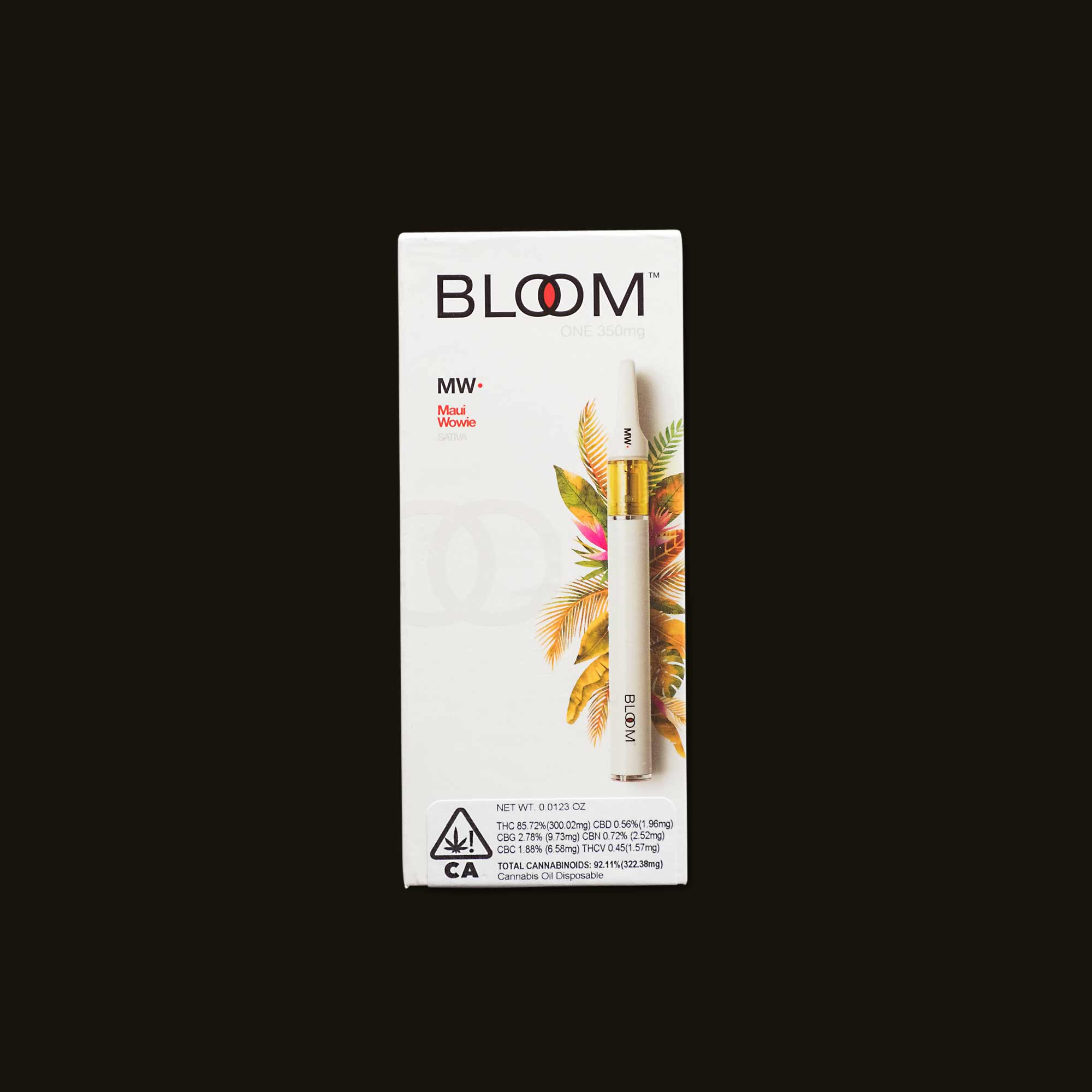 Maui Wowie Bloom One - 350mg disposable pen