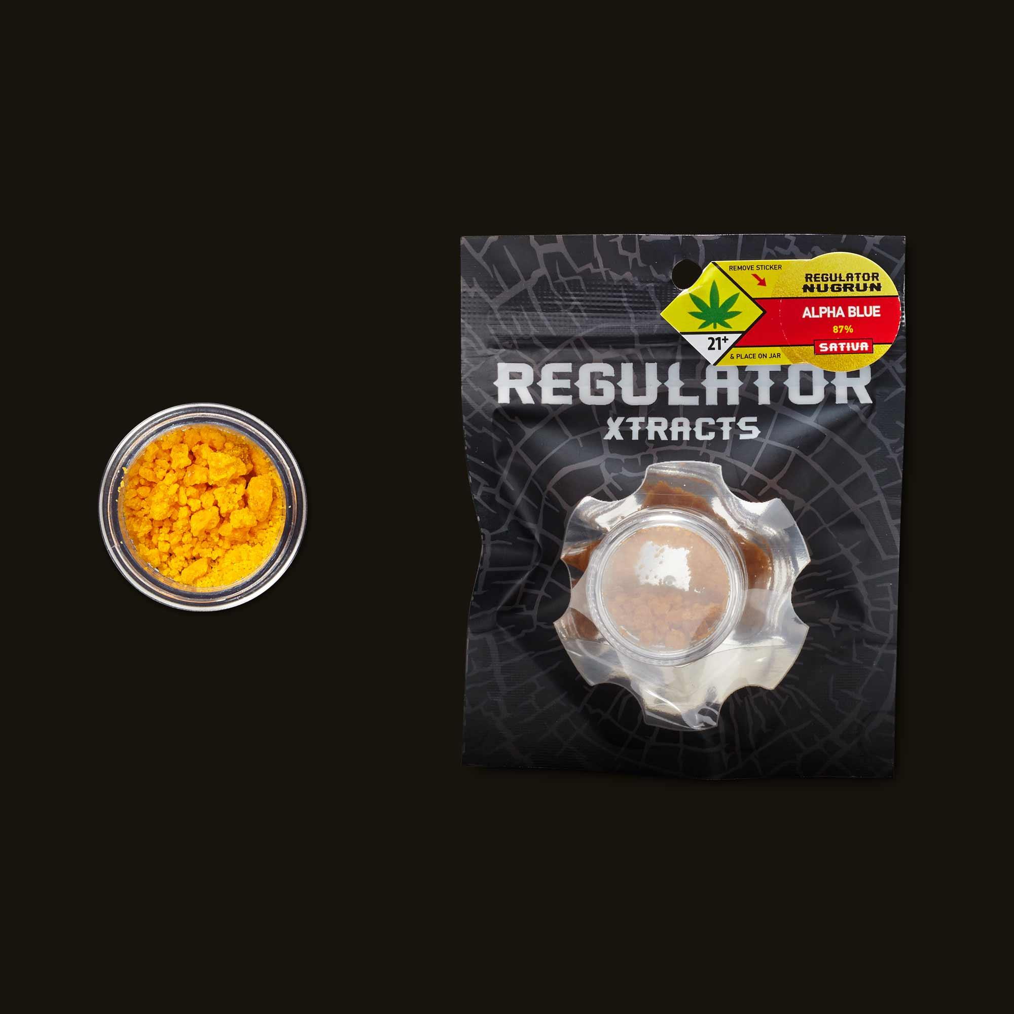 Regulator Alpha Blue Sugar Wax