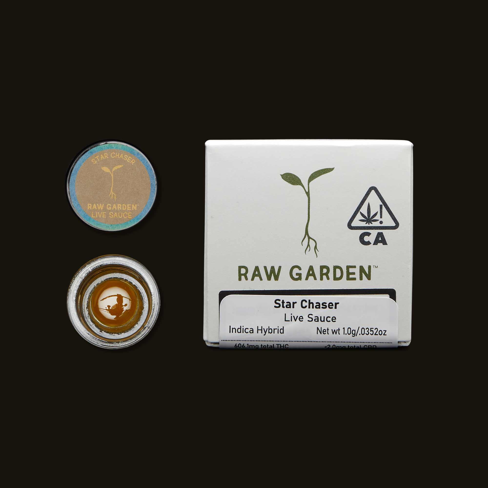 Raw Garden Star Chaser Live Sauce