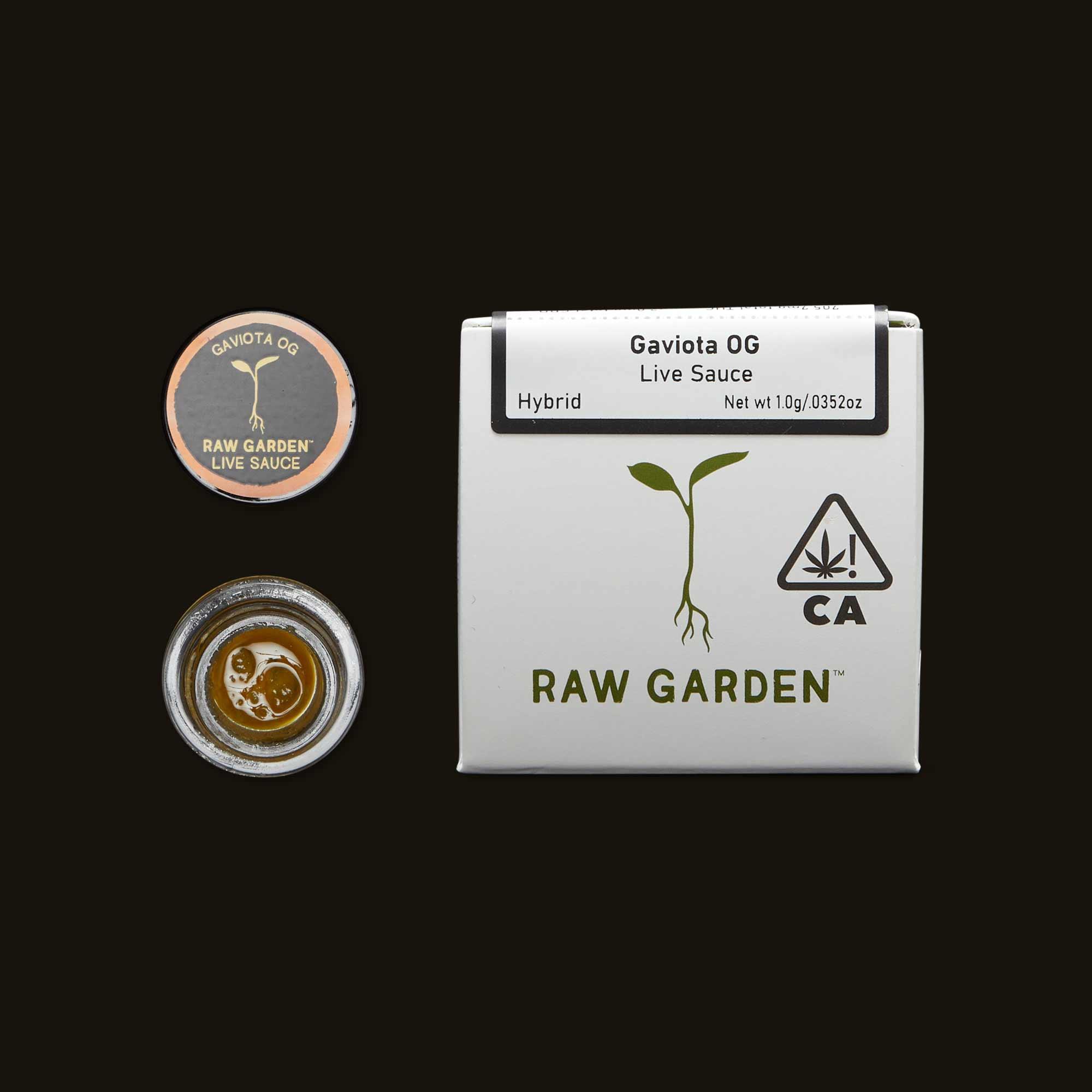 Raw Garden Gaviota OG Live Sauce