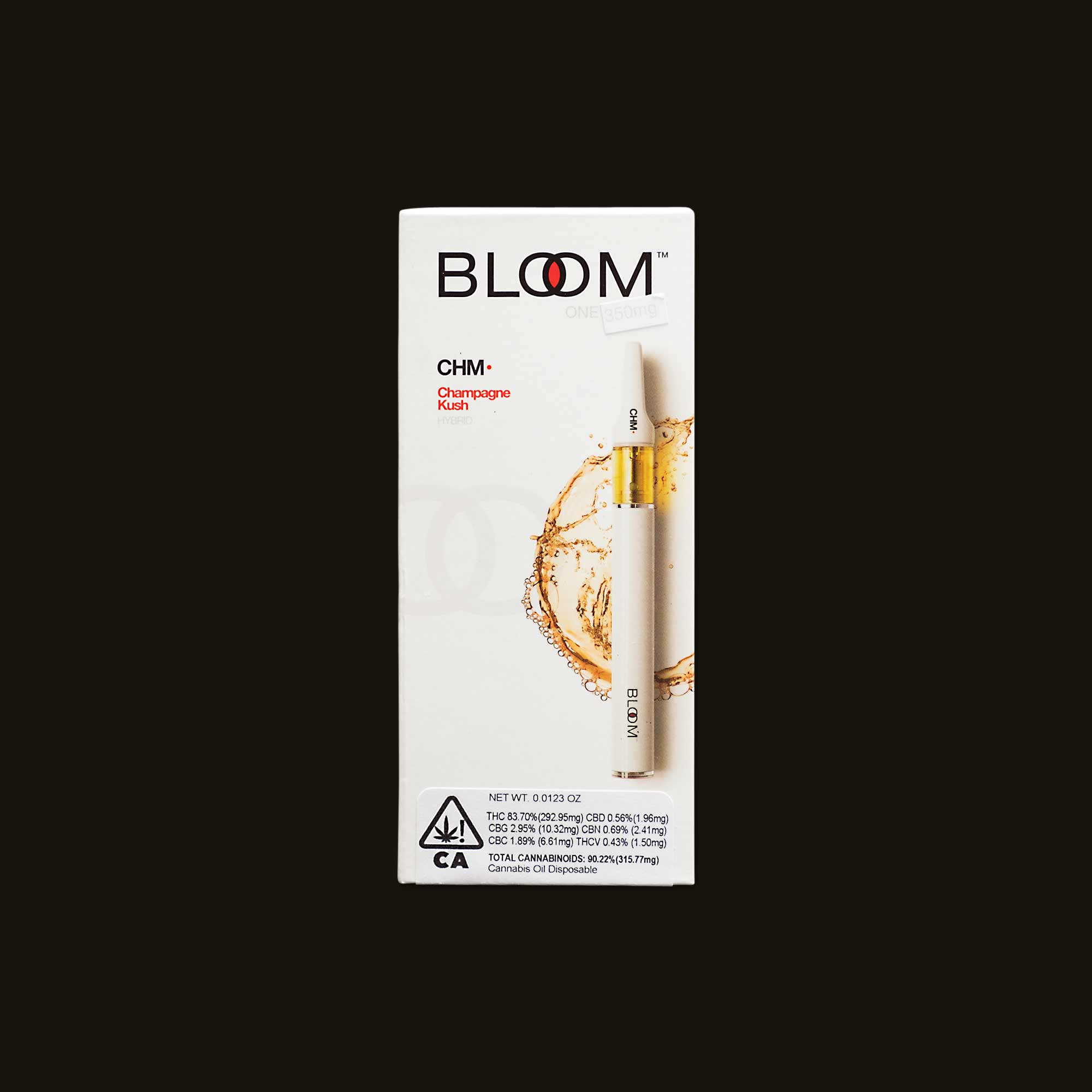 Champagne Kush Bloom One - 350mg disposable pen