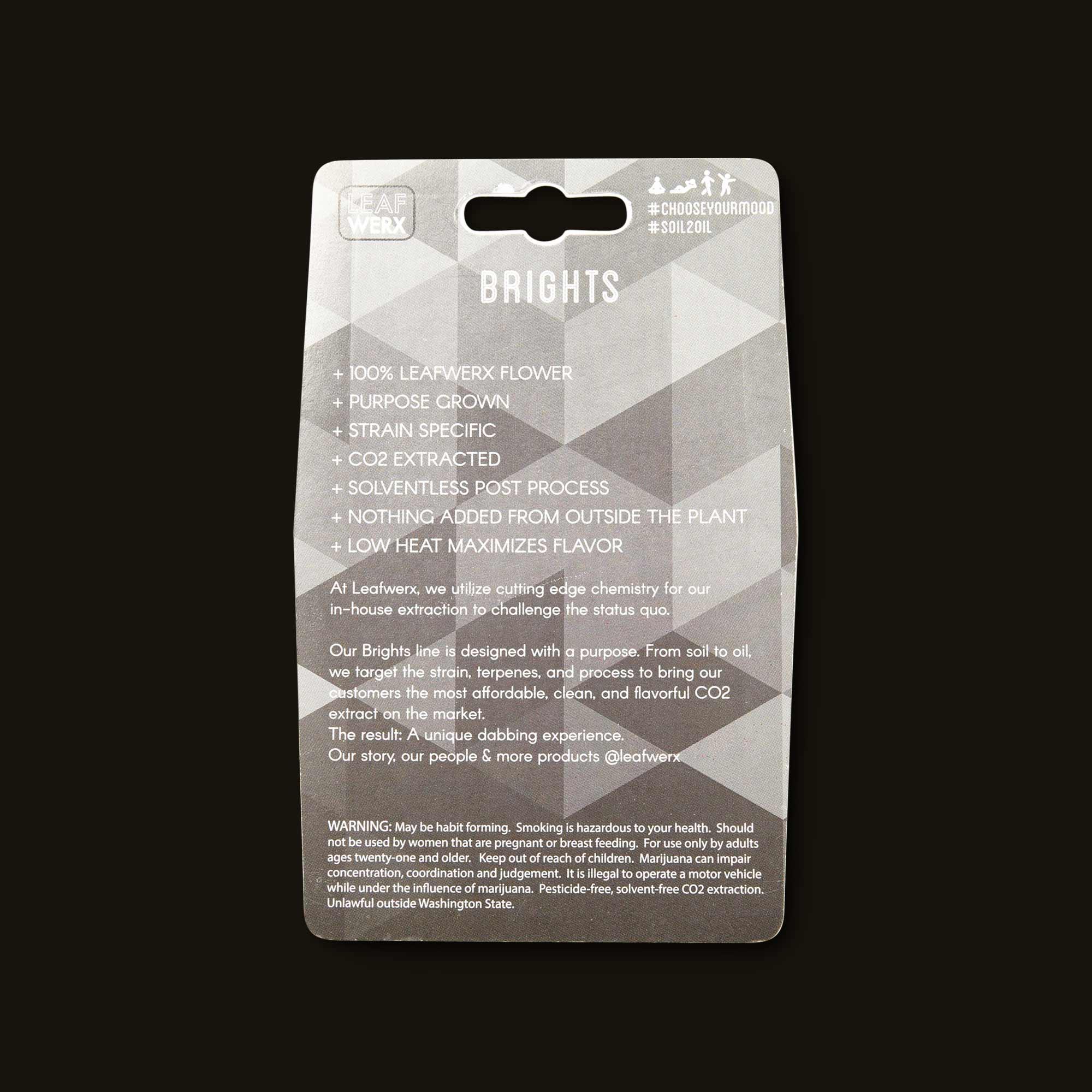 Leafwerx Platinum GSC Wax