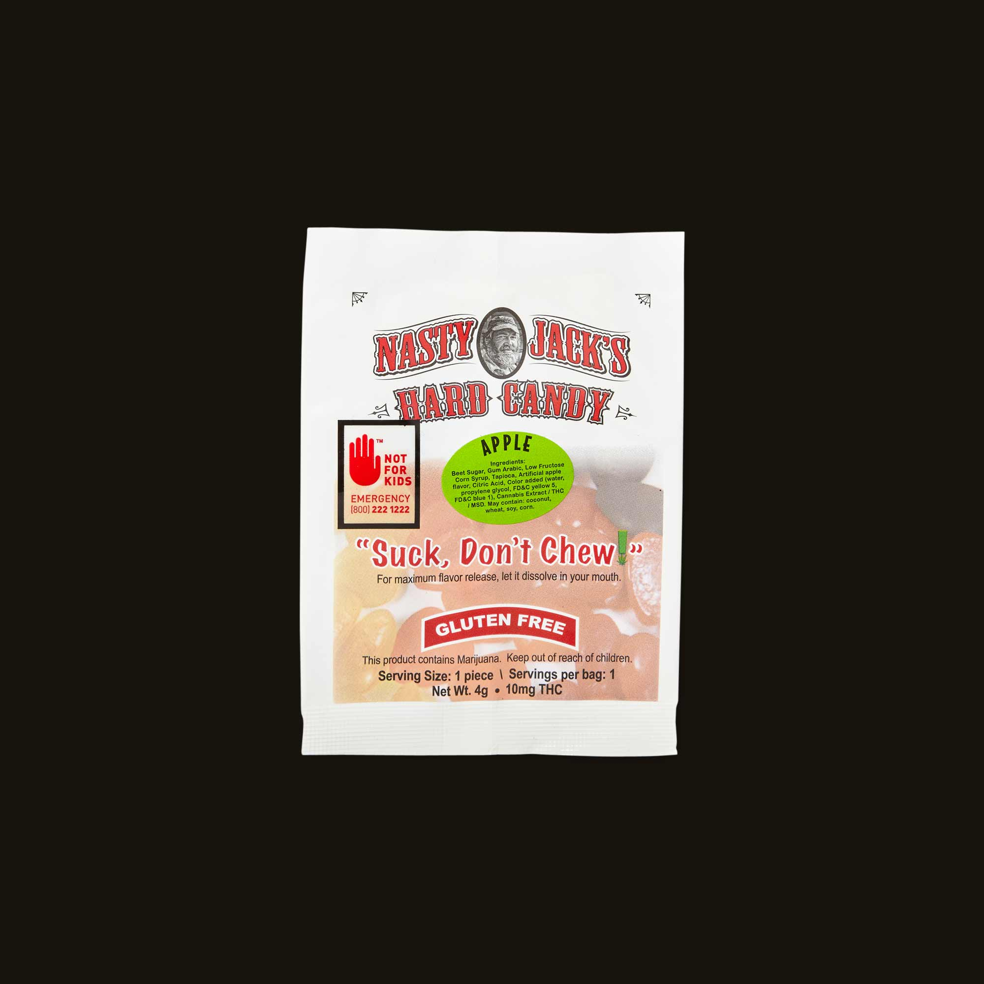 Nasty Jack's Apple Hard Candy
