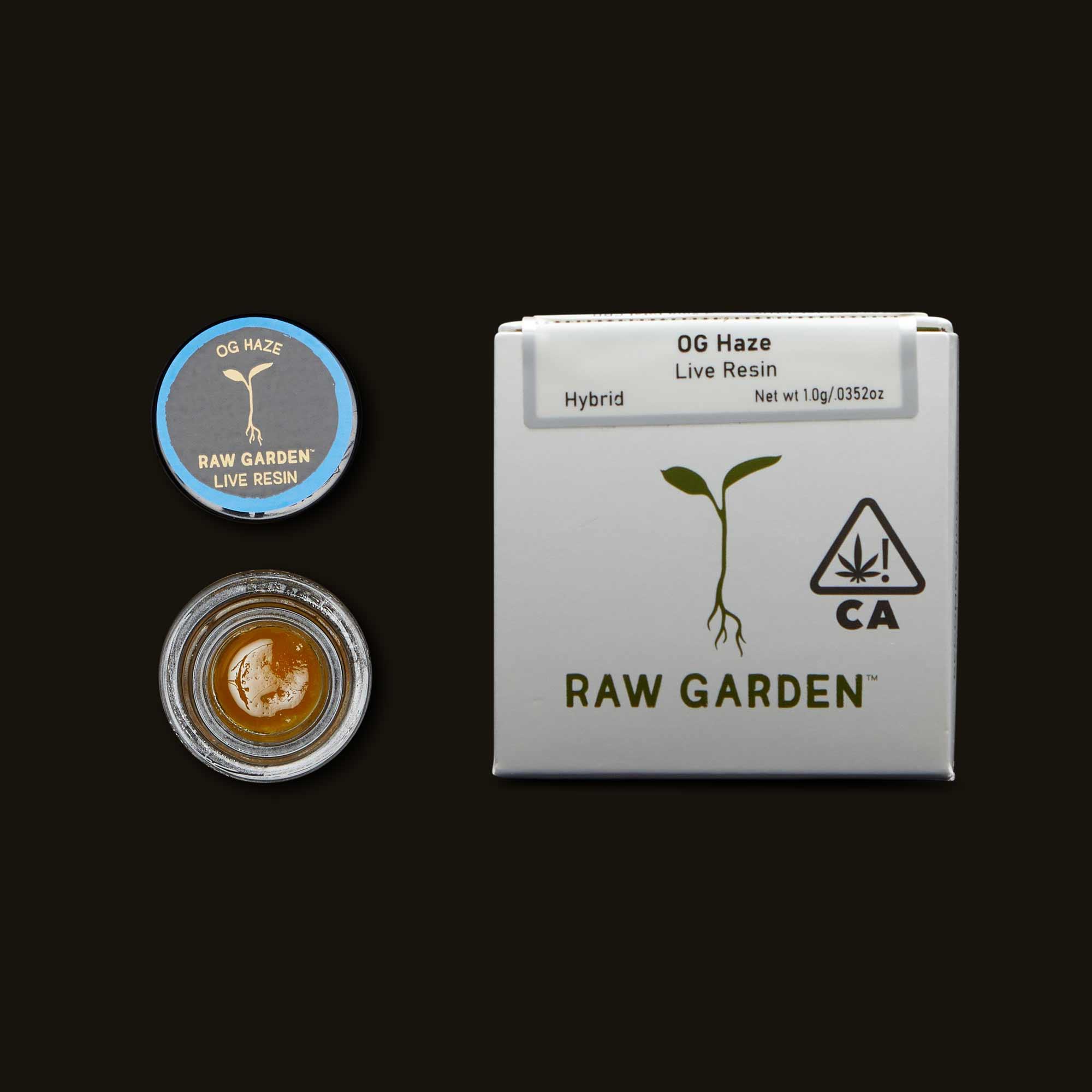 Raw Garden OG Haze Live Resin