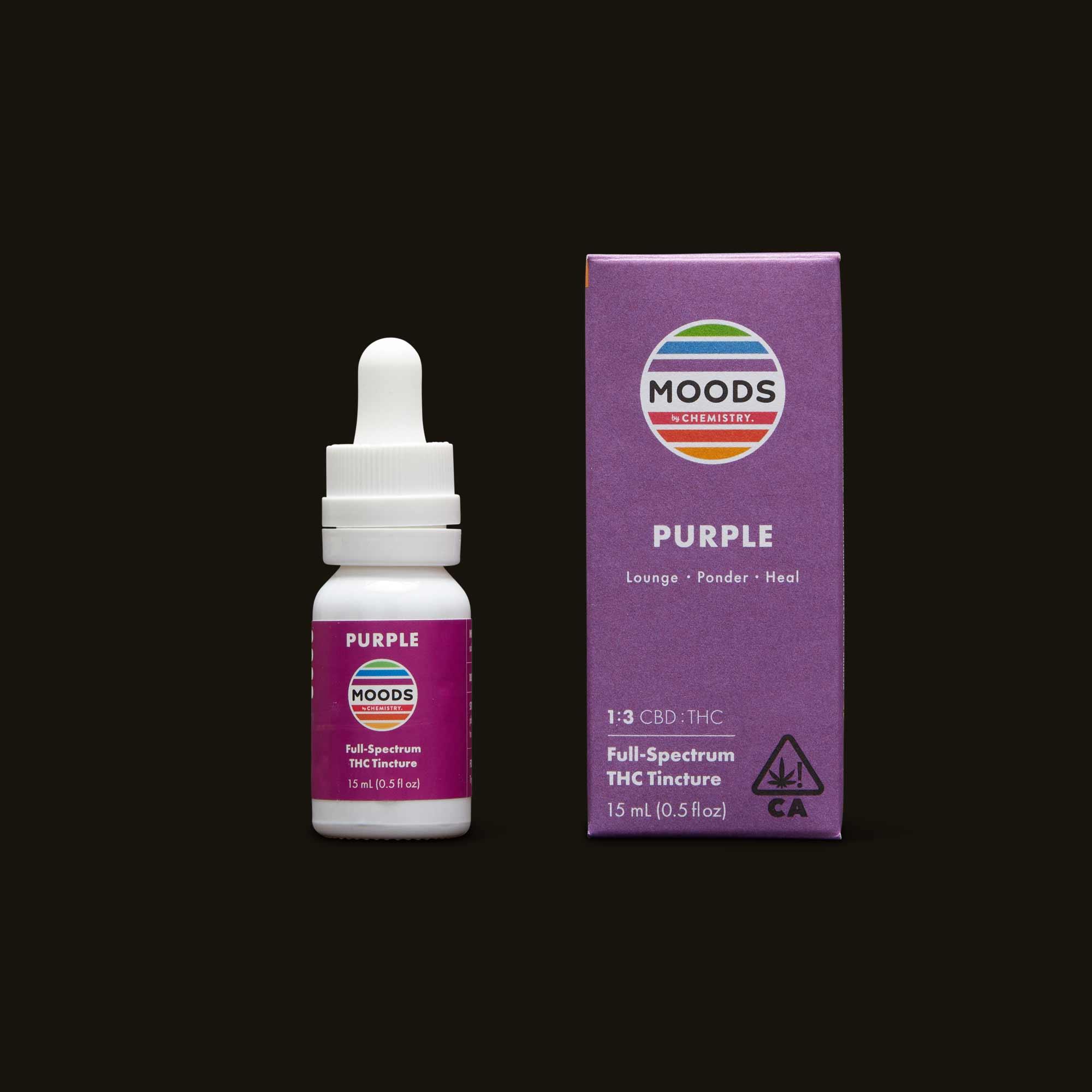Chemistry Purple Moods Tincture