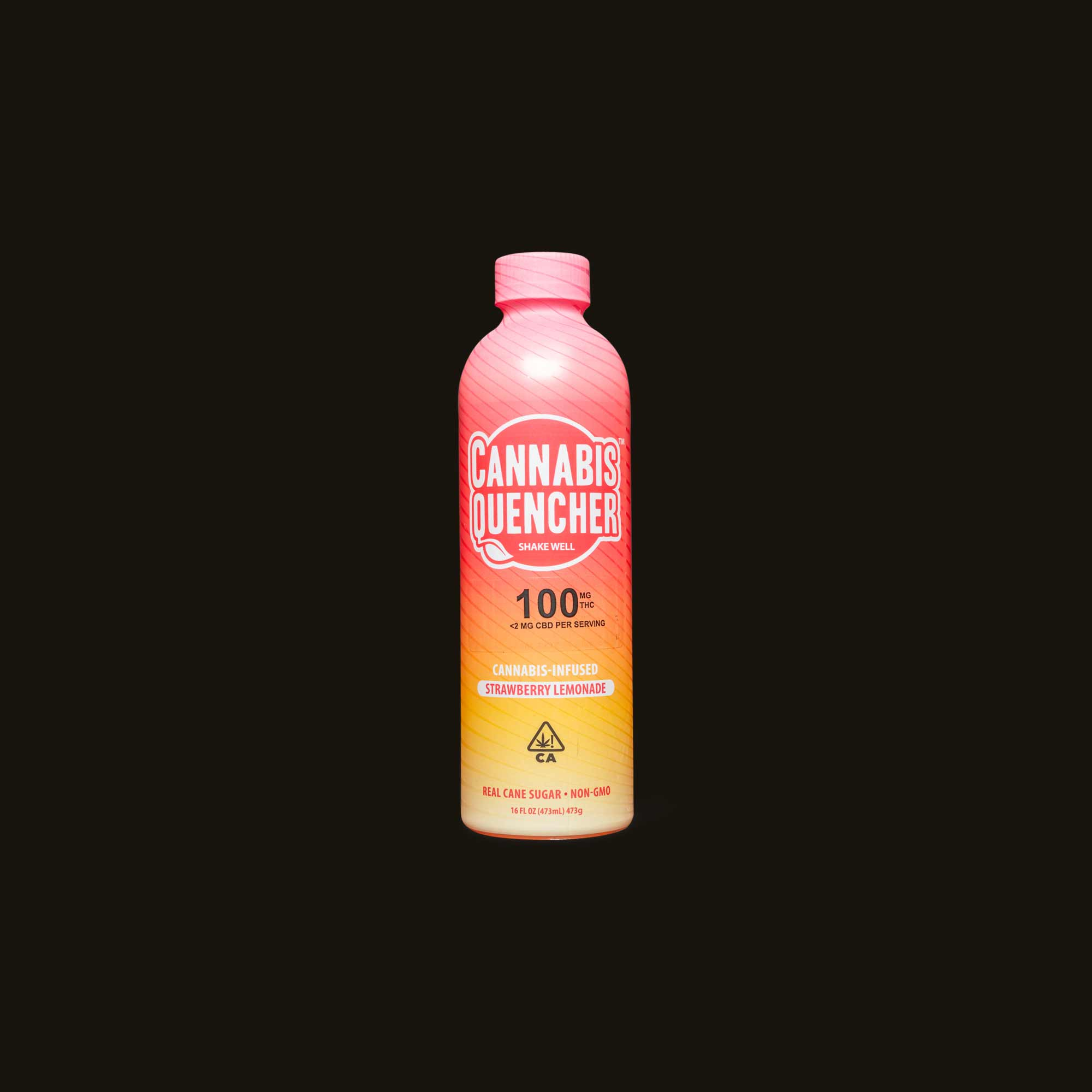 Cannabis Quencher Strawberry Lemonade