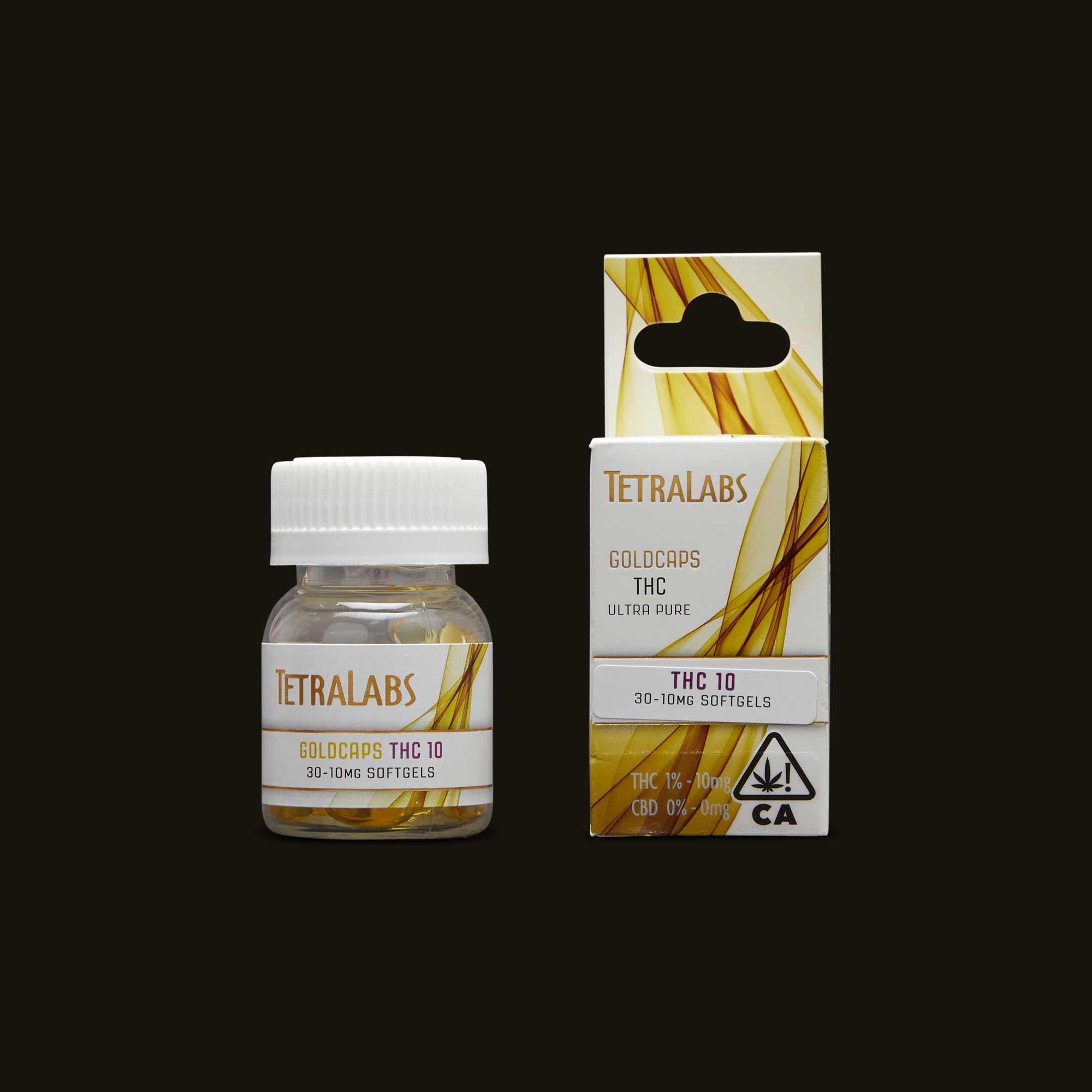 TetraLabs 10mg GoldCaps