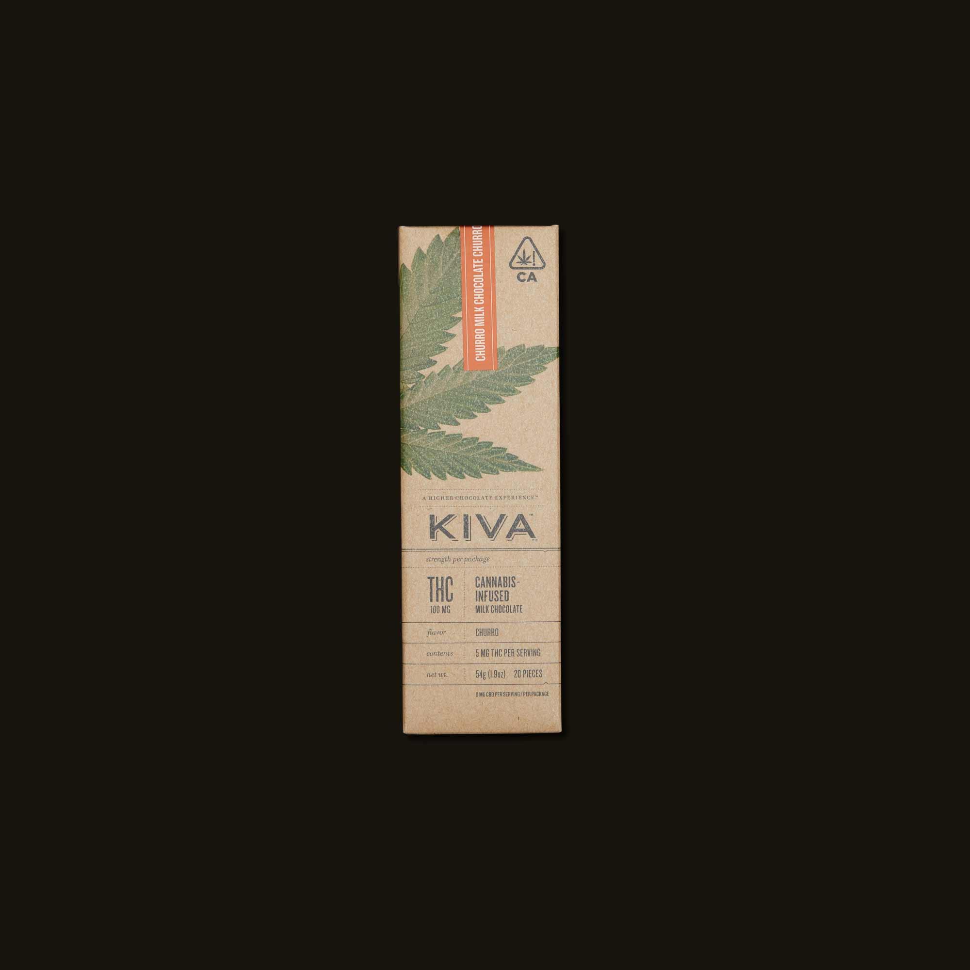 Kiva Churro Milk Chocolate Kiva Bar