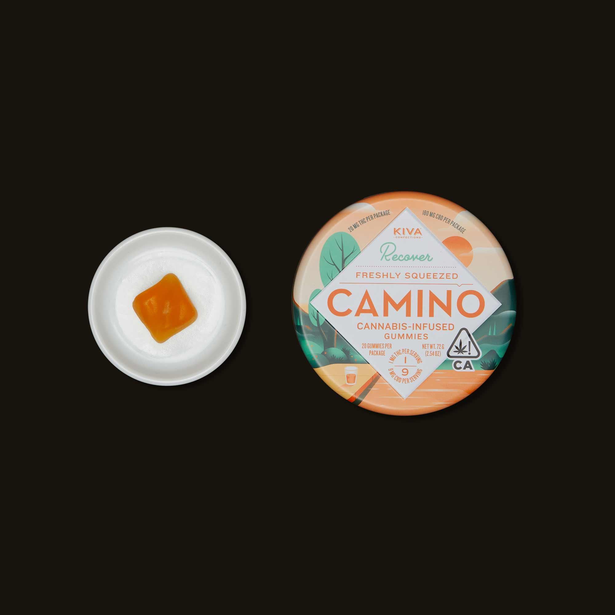 Kiva Camino Freshly Squeezed Orange Gummies