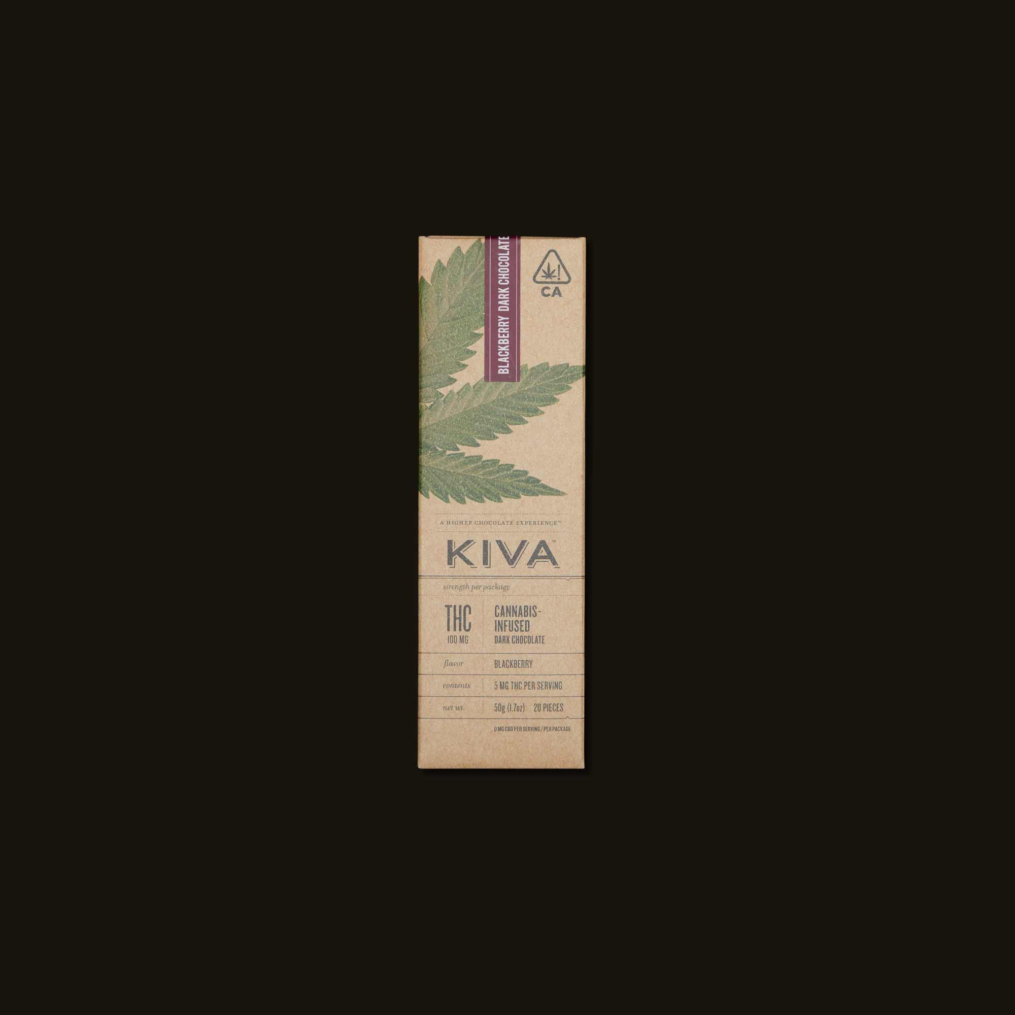 Blackberry Kiva Front Package