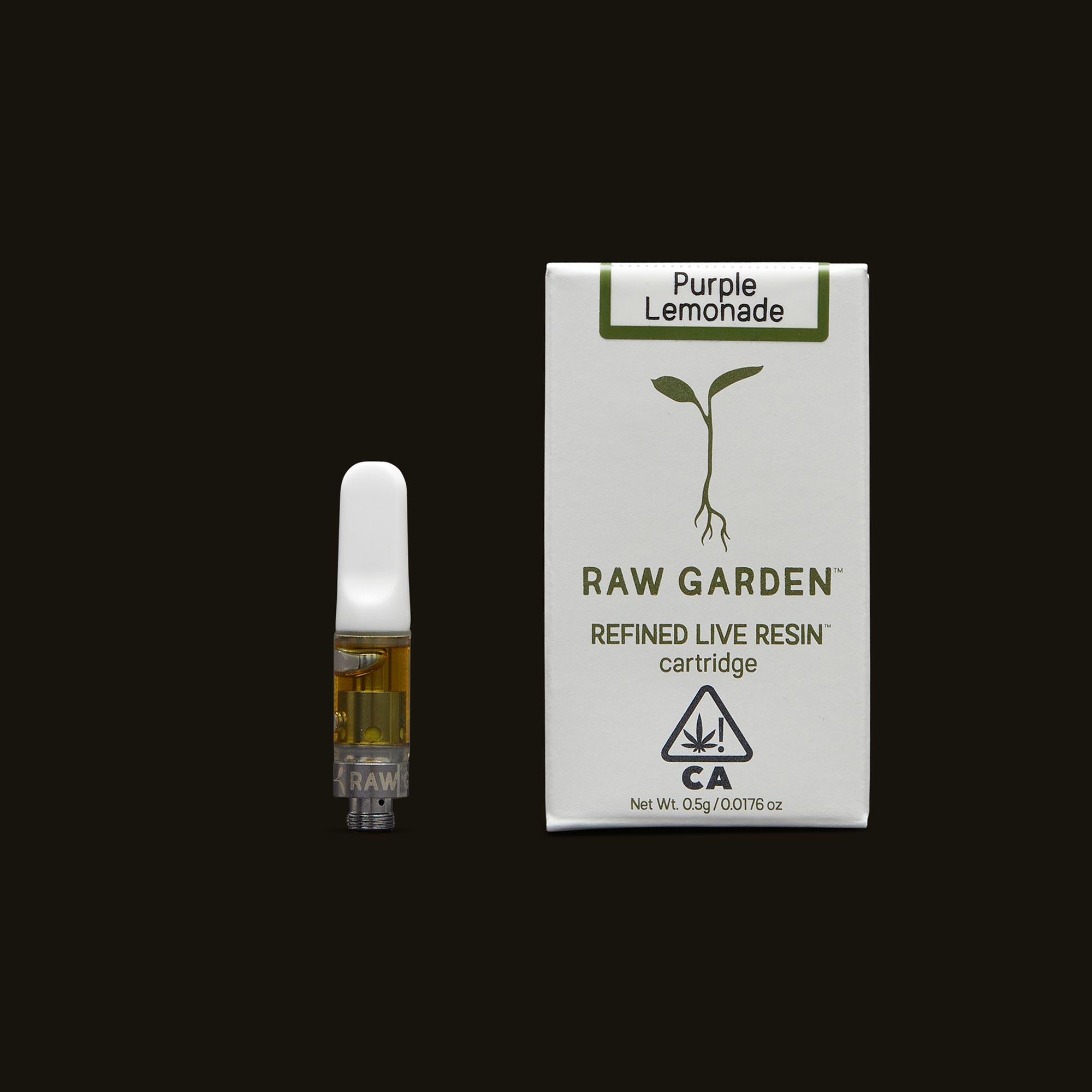 Raw Garden Purple Lemonade Cartridge