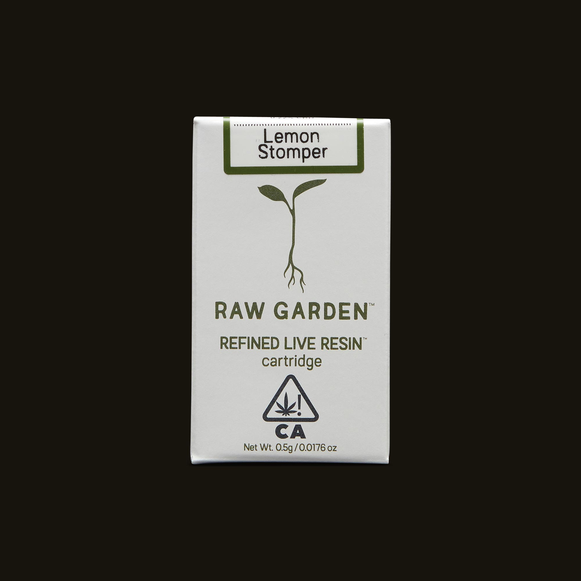 Lemon Stomper Cartridge - 500mg cartridge