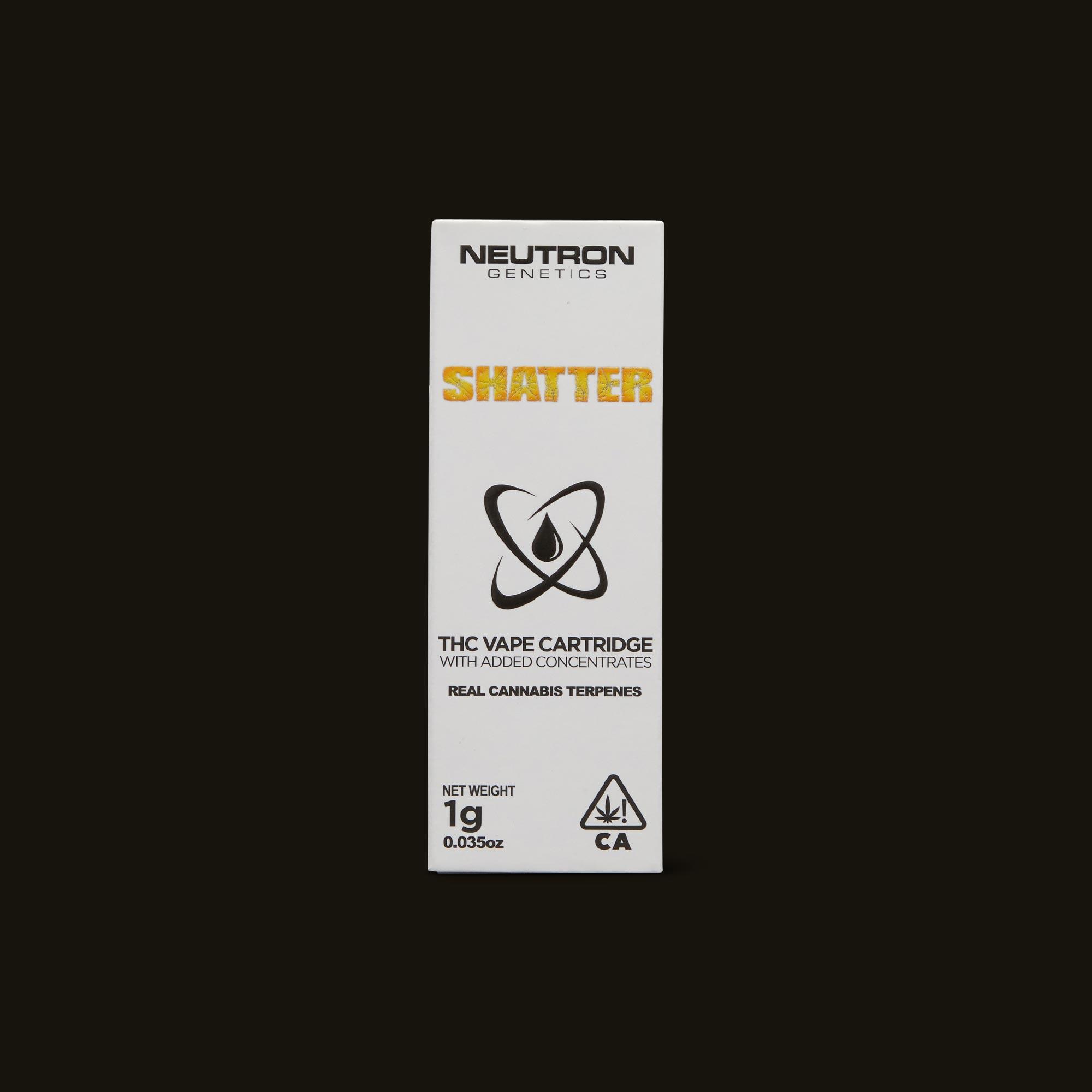 Banana OG Shatter Cartridge - 1g cartridge