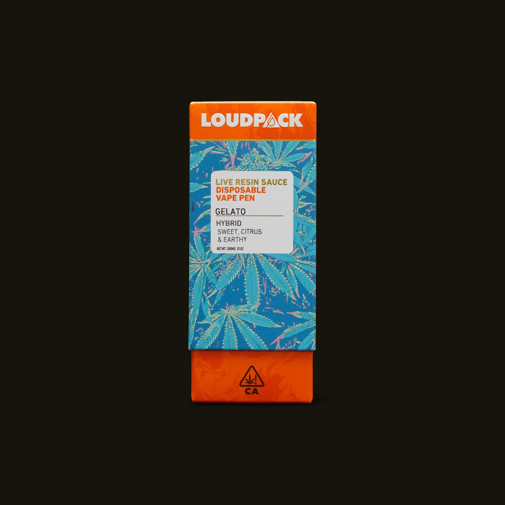 Loudpack Gelato Live Resin Sauce Pen