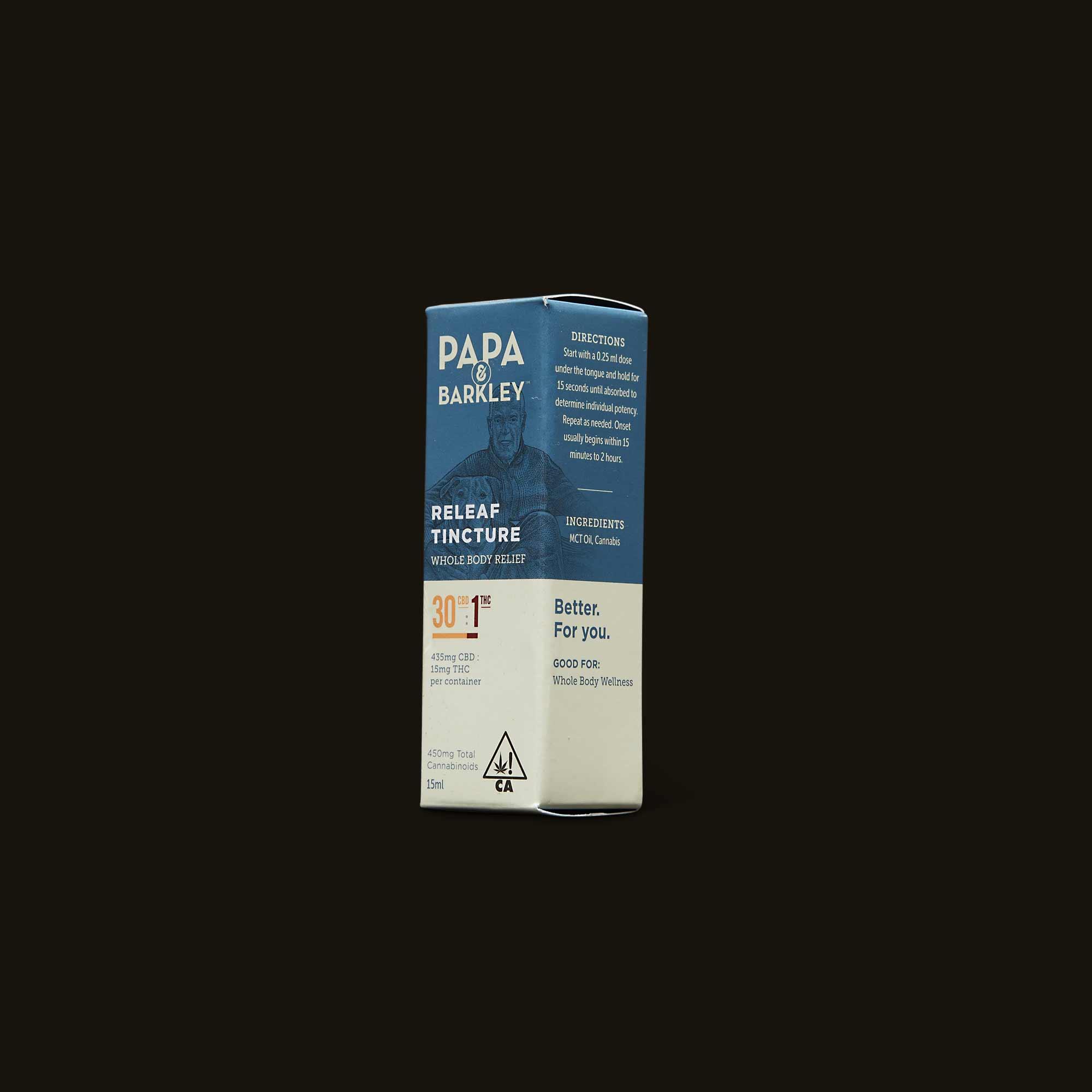 Papa & Barkley 30:1 CBD:THC Releaf Tincture