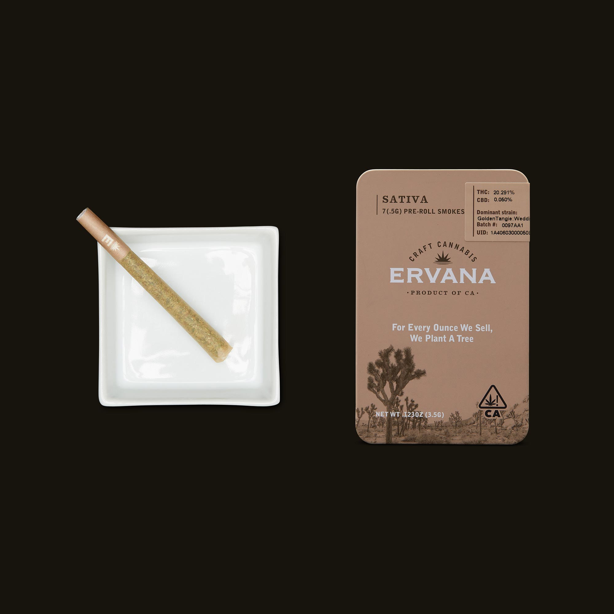 Ervana Sativa Pre-Rolls