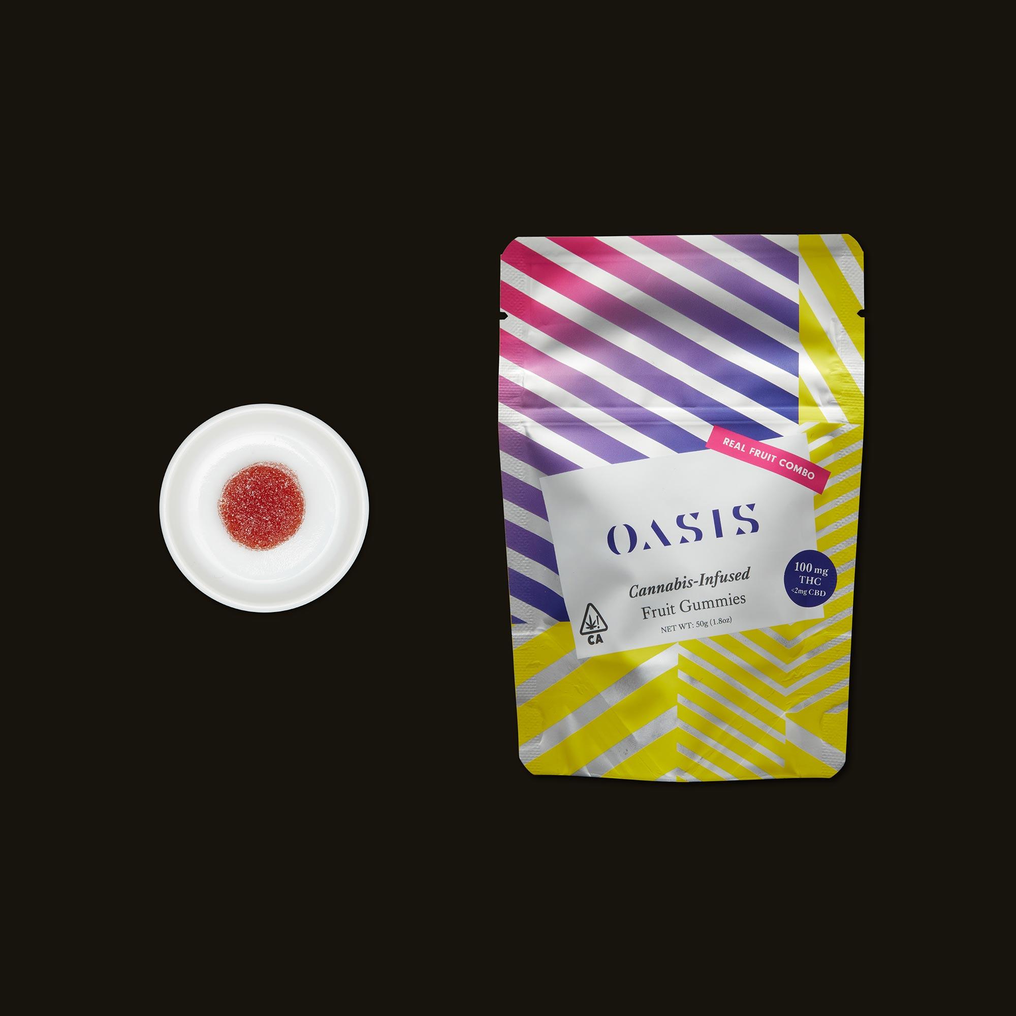 Oasis Fruit Gummies