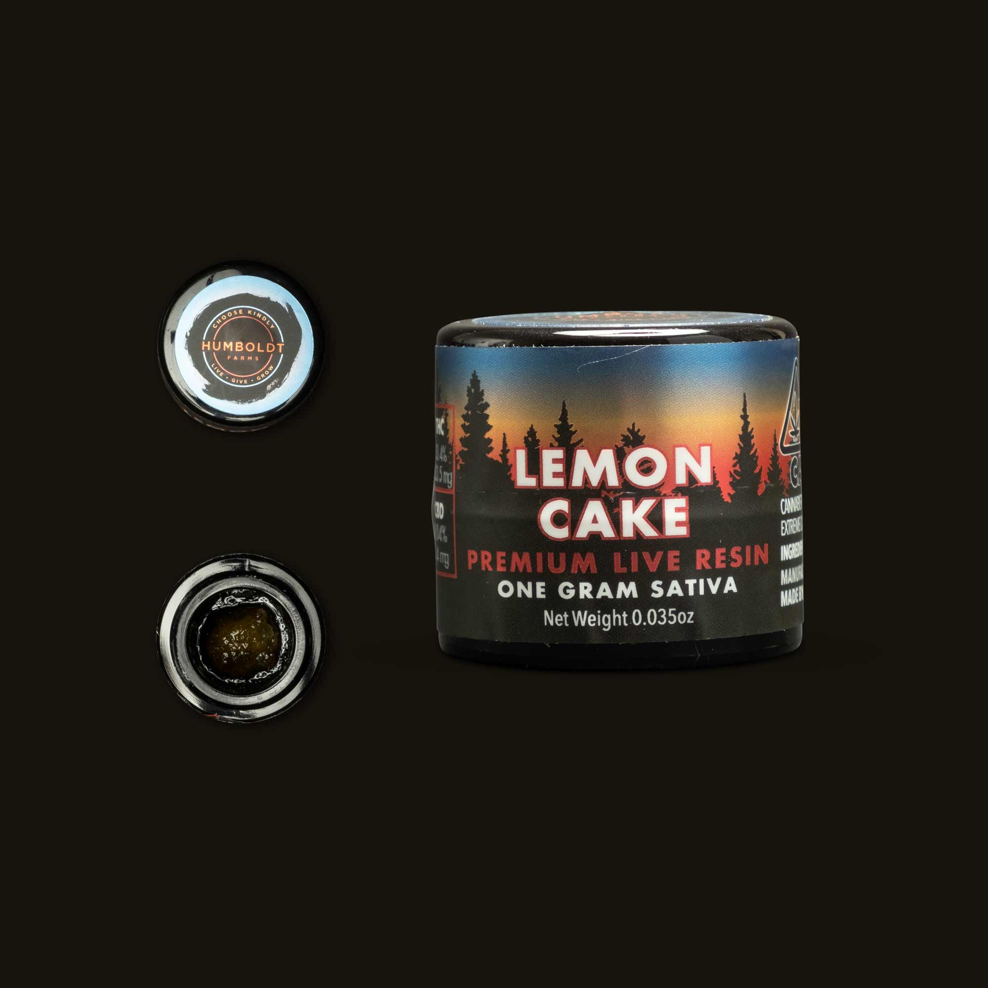 Humboldt Farms Lemon Cake Live Resin