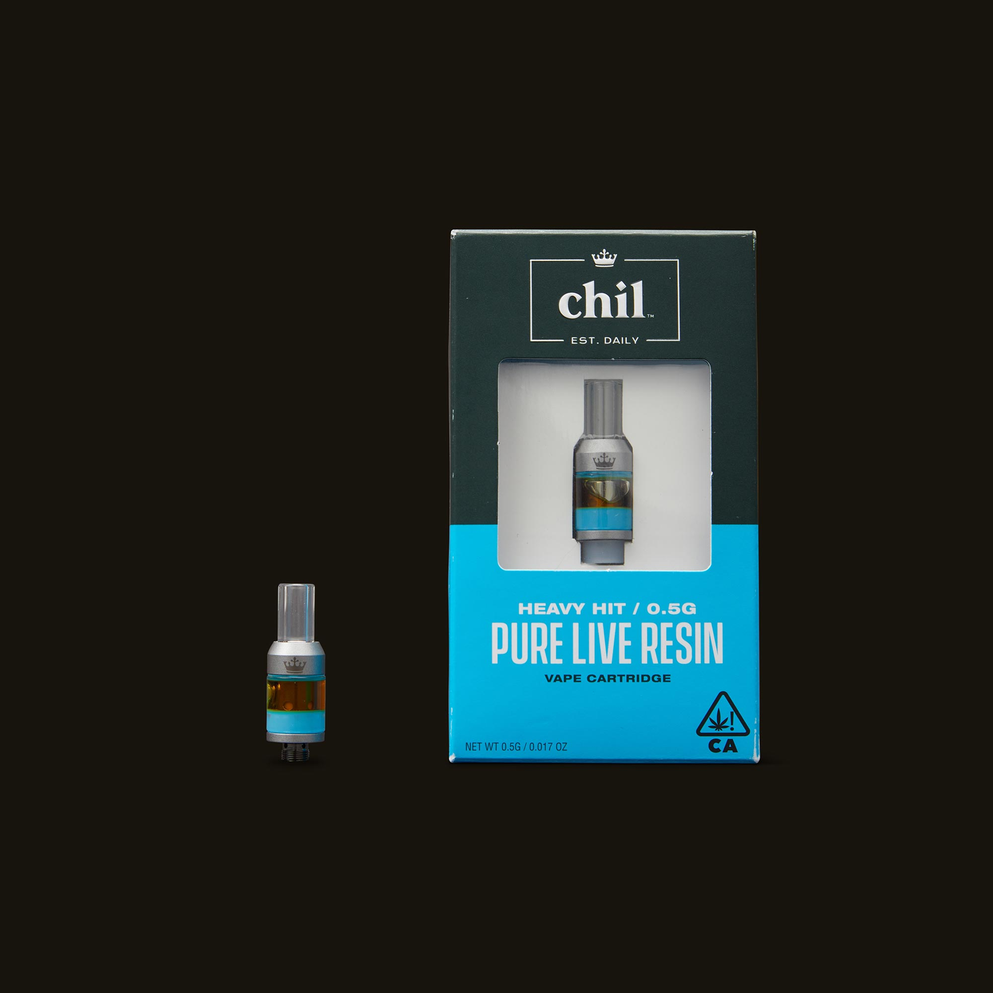 Chil Space Cake Pure Live Resin Cartridge with Box