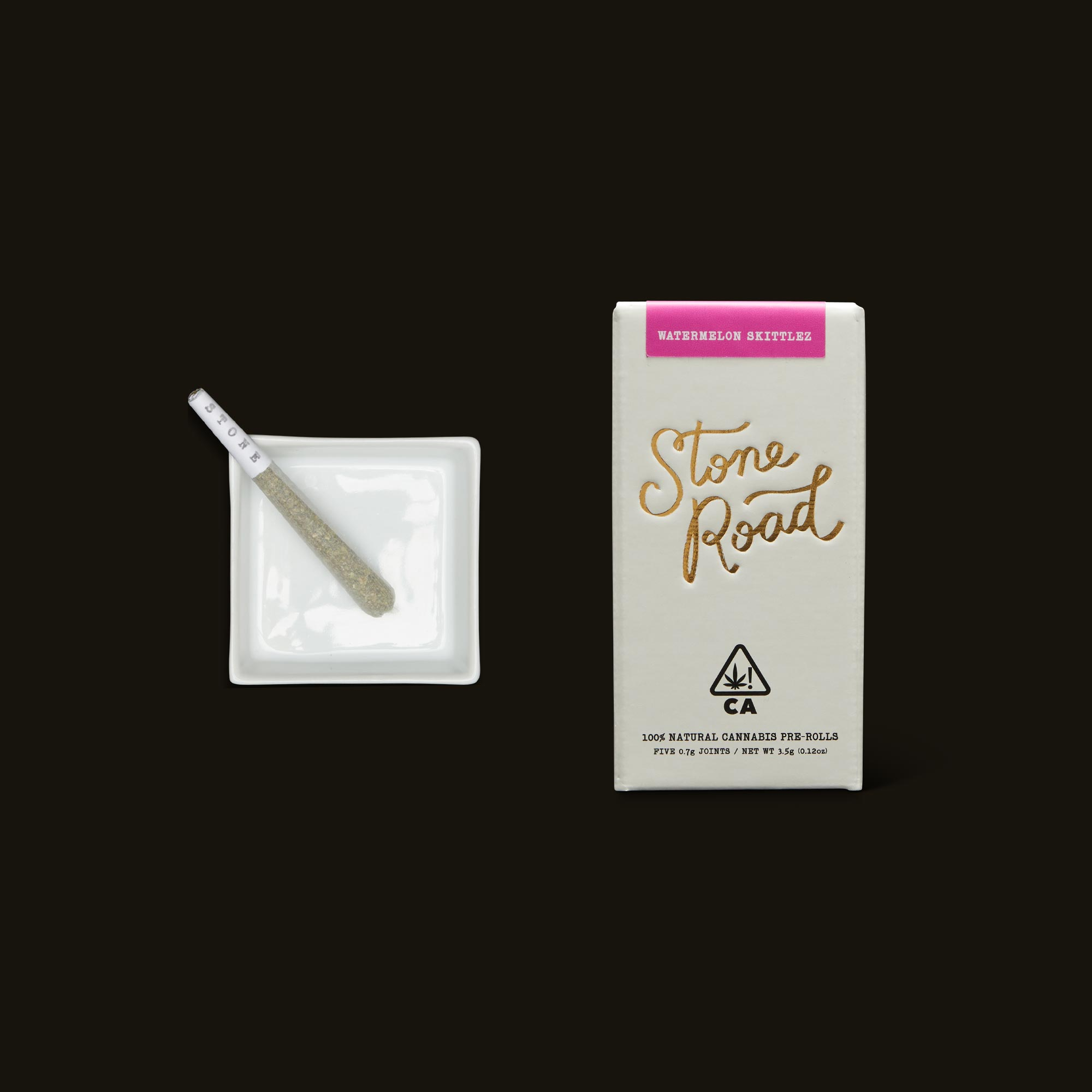 Stone Road Watermelon Skittlez Infused Pre-Roll Pack