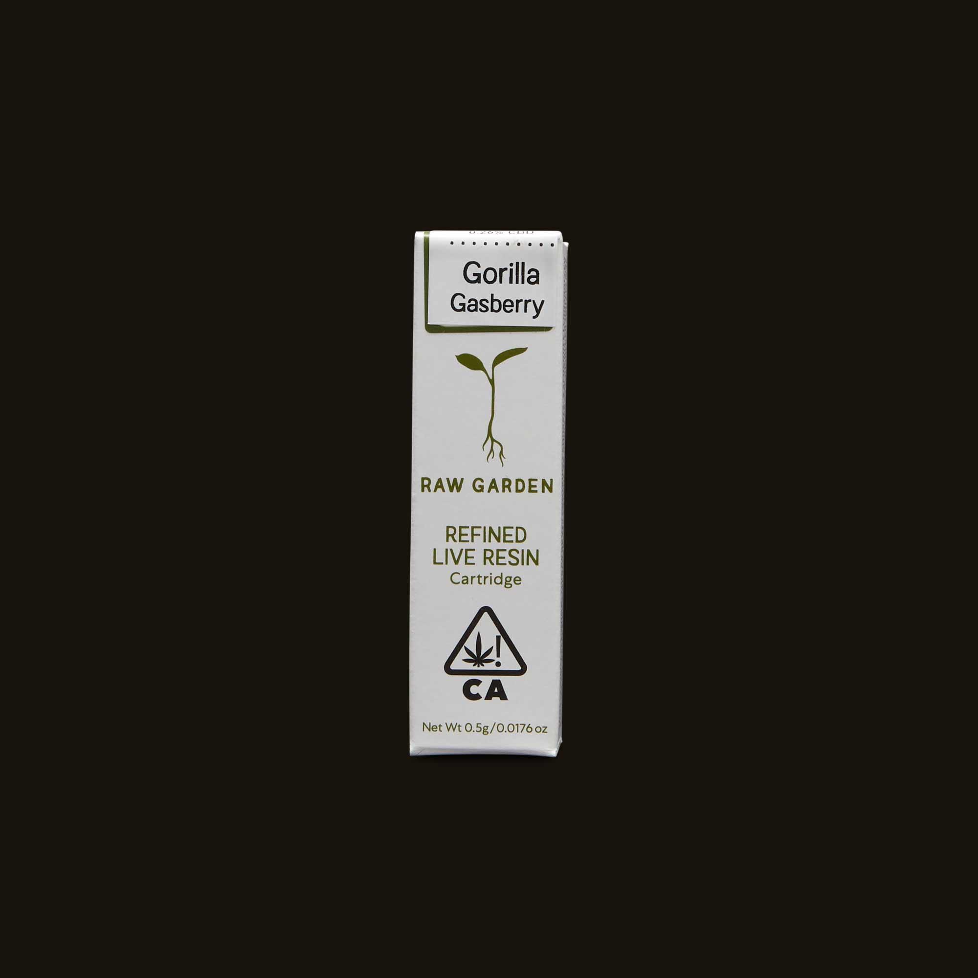 Gorilla Gasberry Cartridge - 500mg cartridge