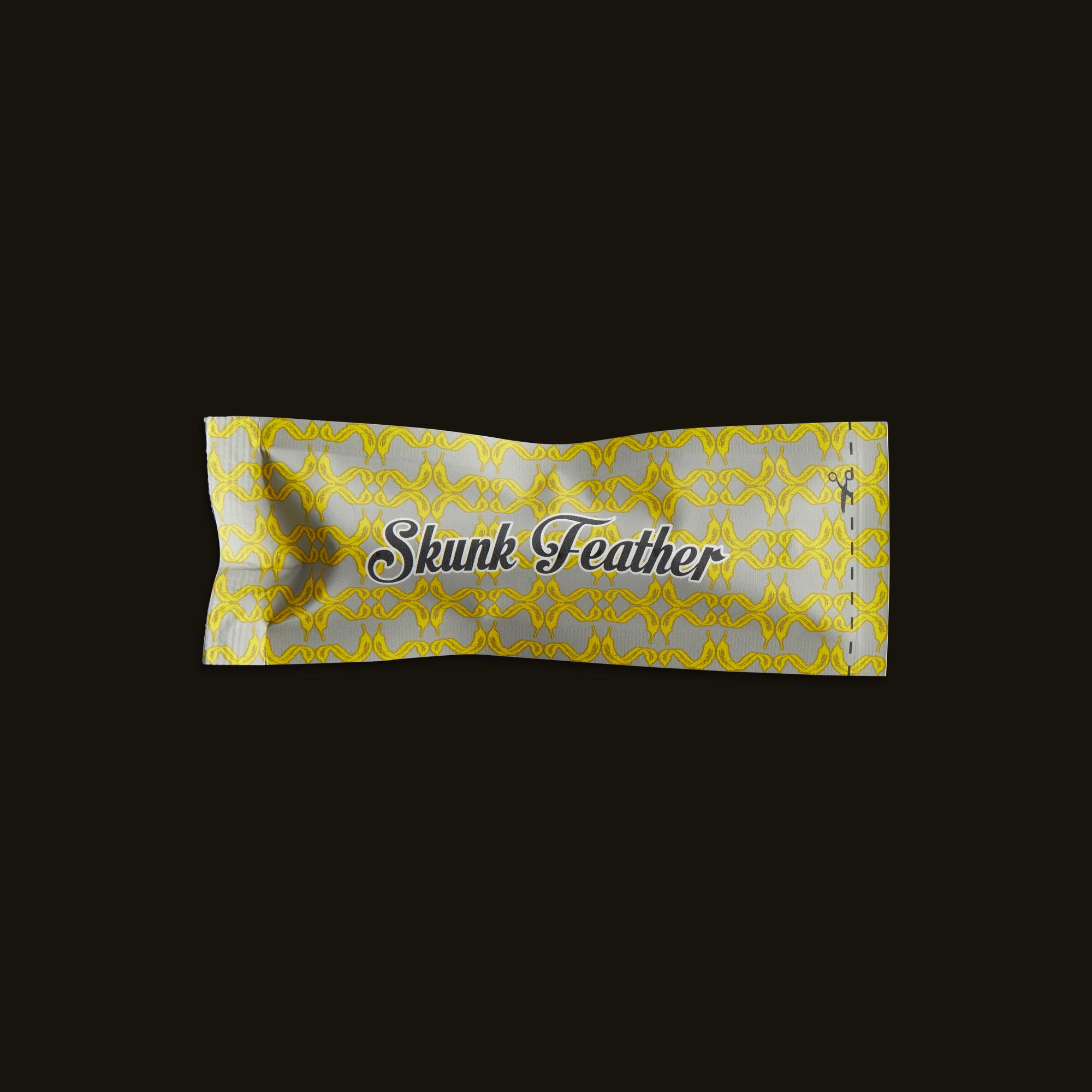 Skunk Feather Boardwalk Cartridge Wrapper