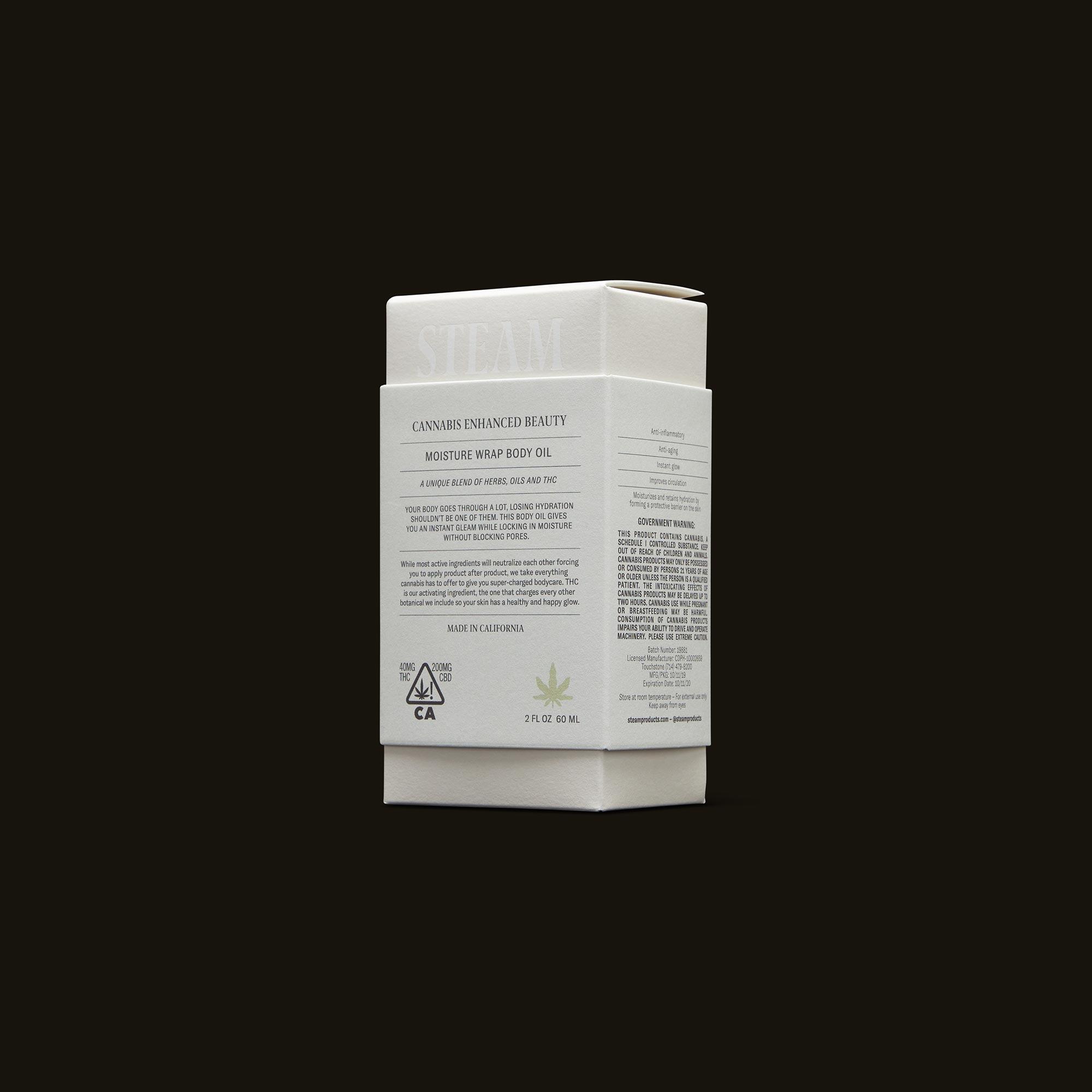 STEAM Moisture Wrap Body Oil