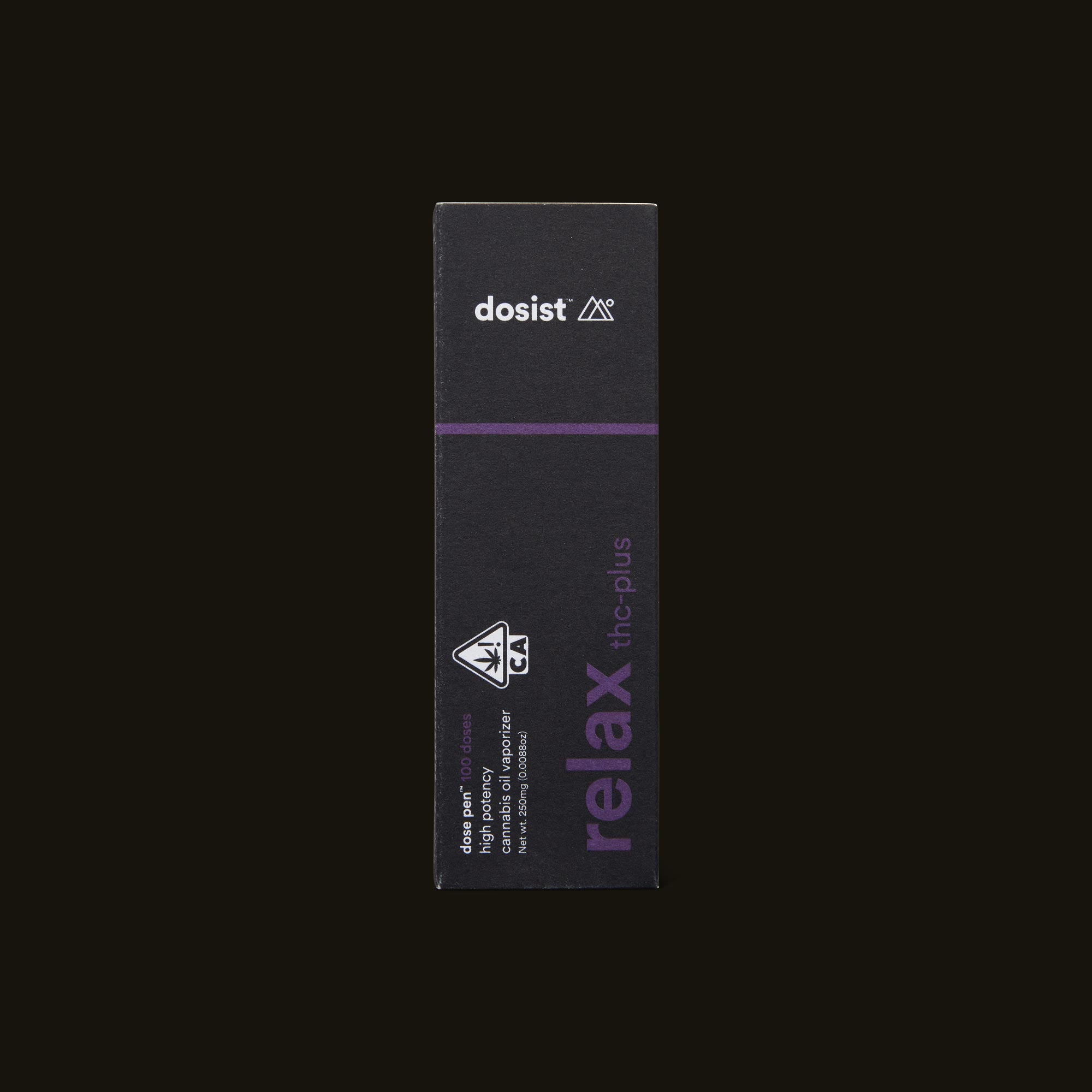 dosist relax thc-plus dose pen front box