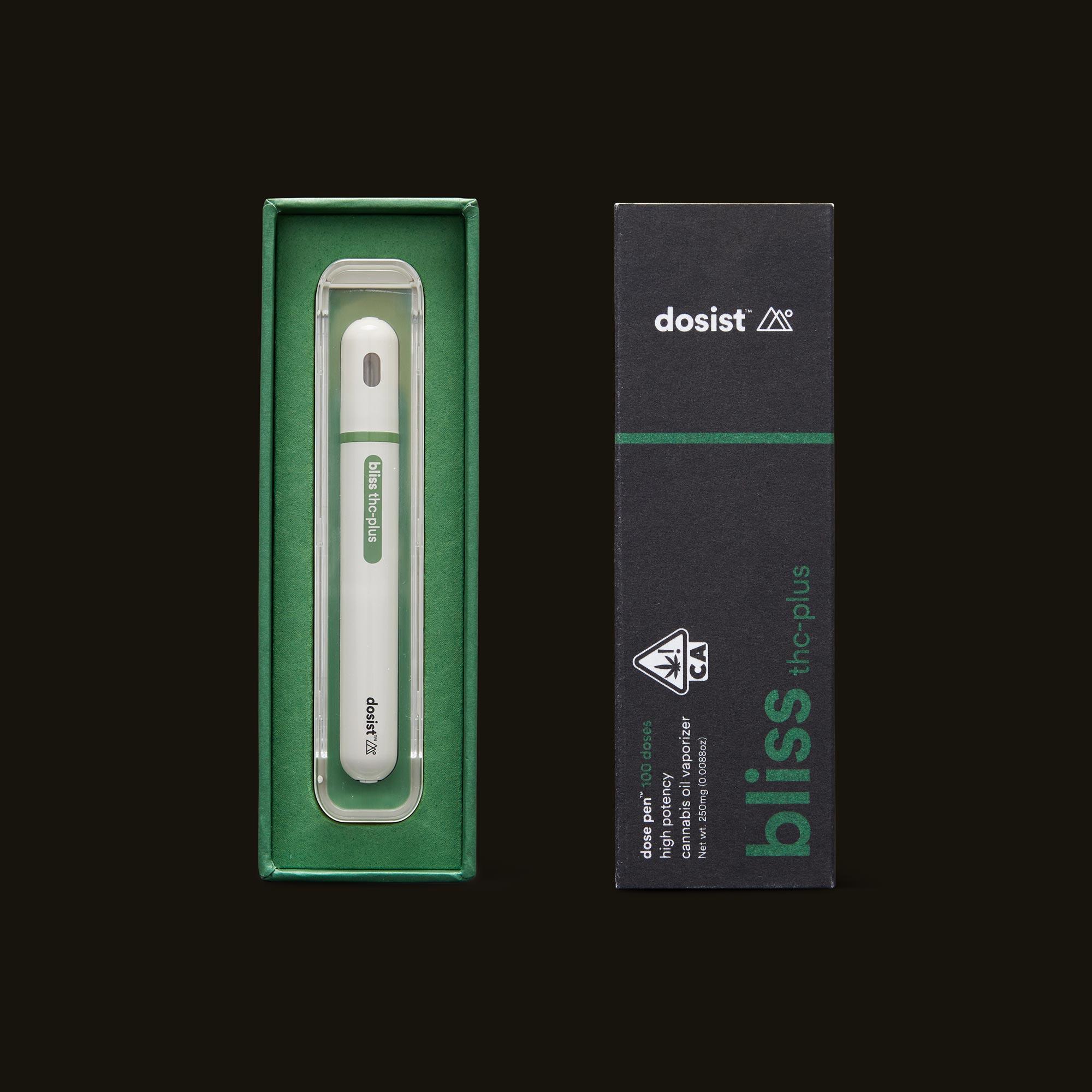 dosist bliss thc-plus dose pen open box