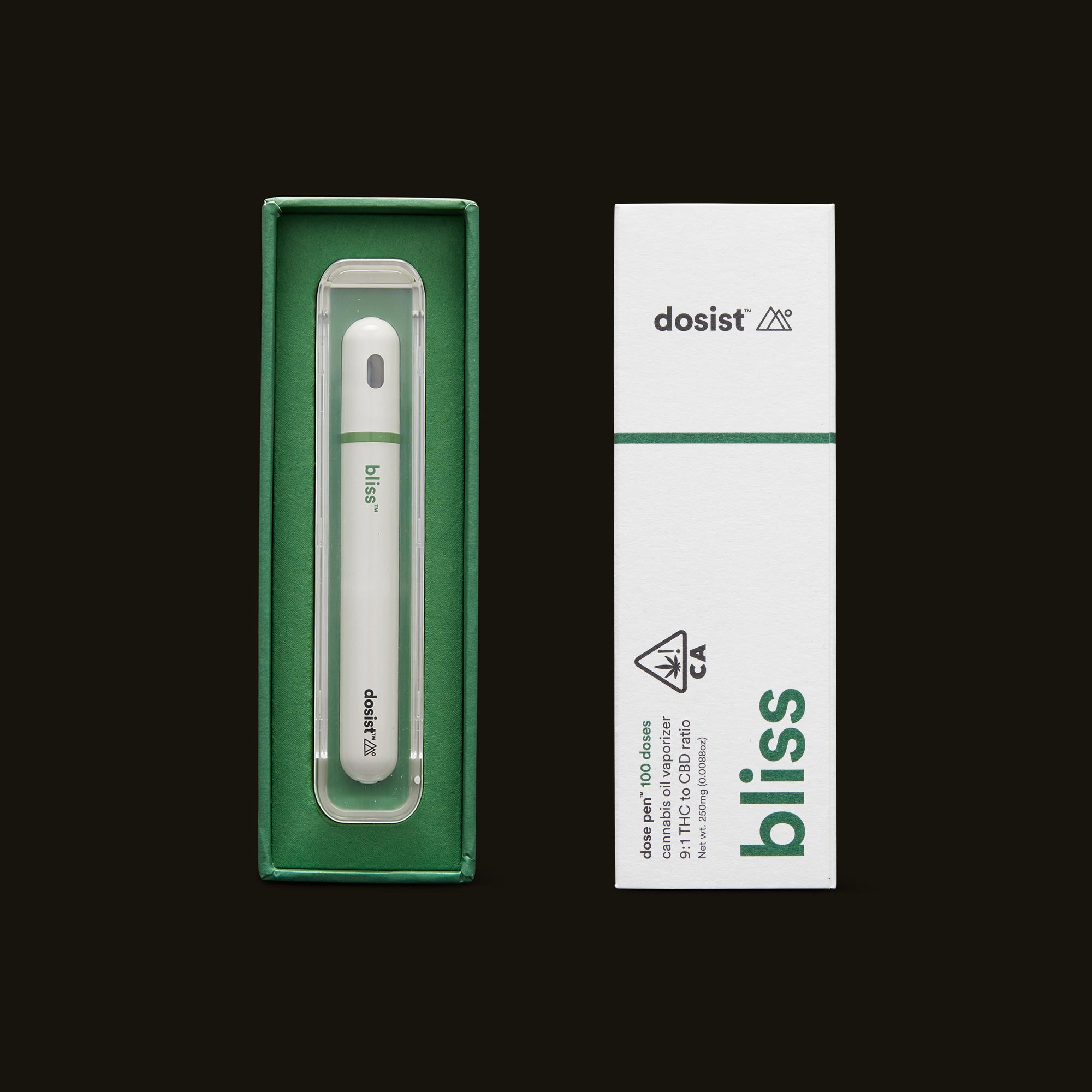 dosist bliss dose pen open box