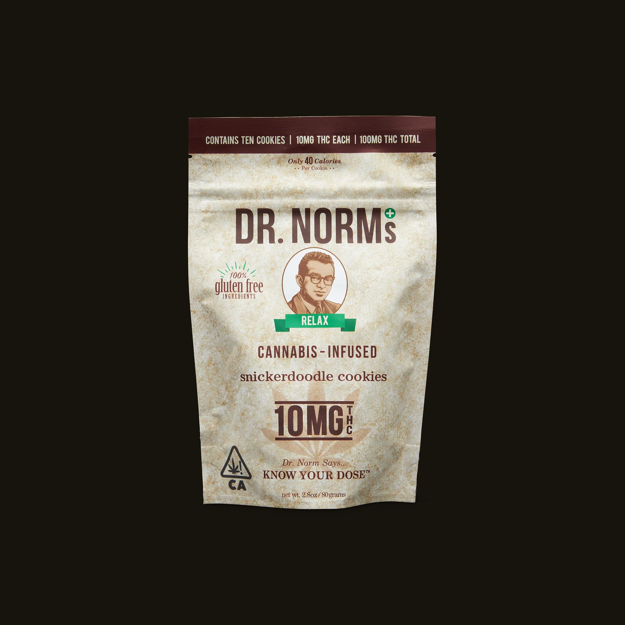 Dr. Norm's Snickerdoodle Cookies Bag