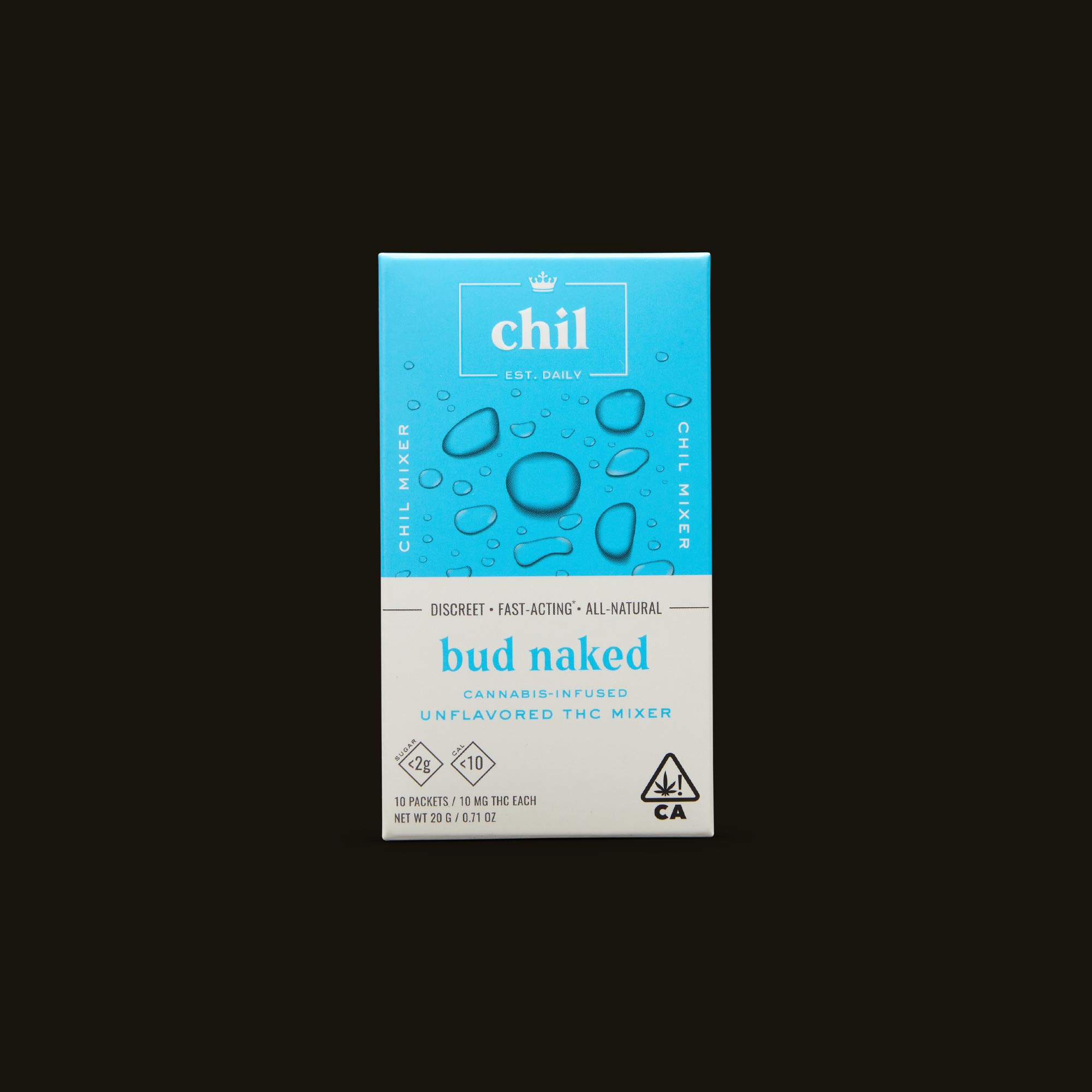Chil Bud Naked Mixer Front Box