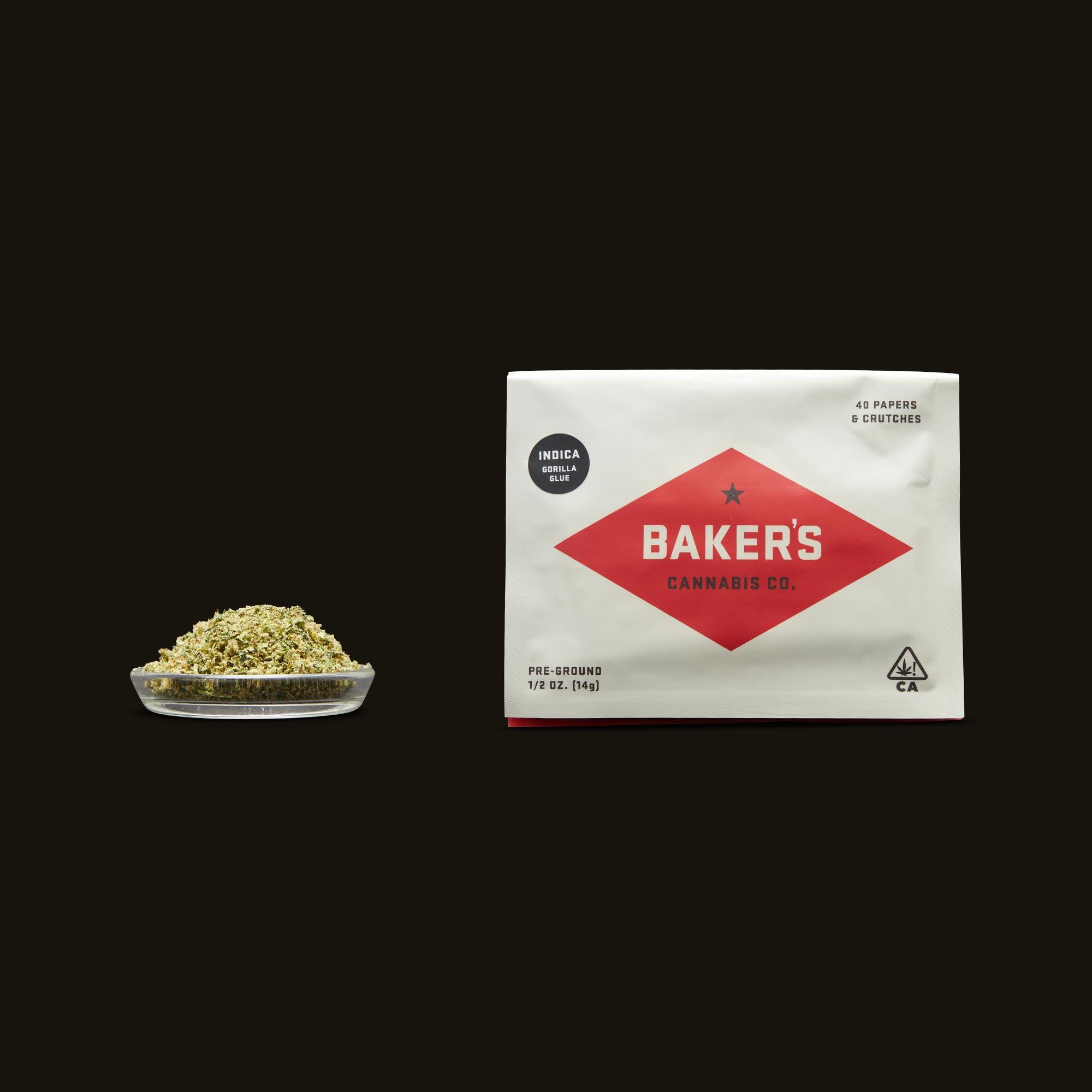 Baker's Gorilla Glue Pre-Ground Half Ounce
