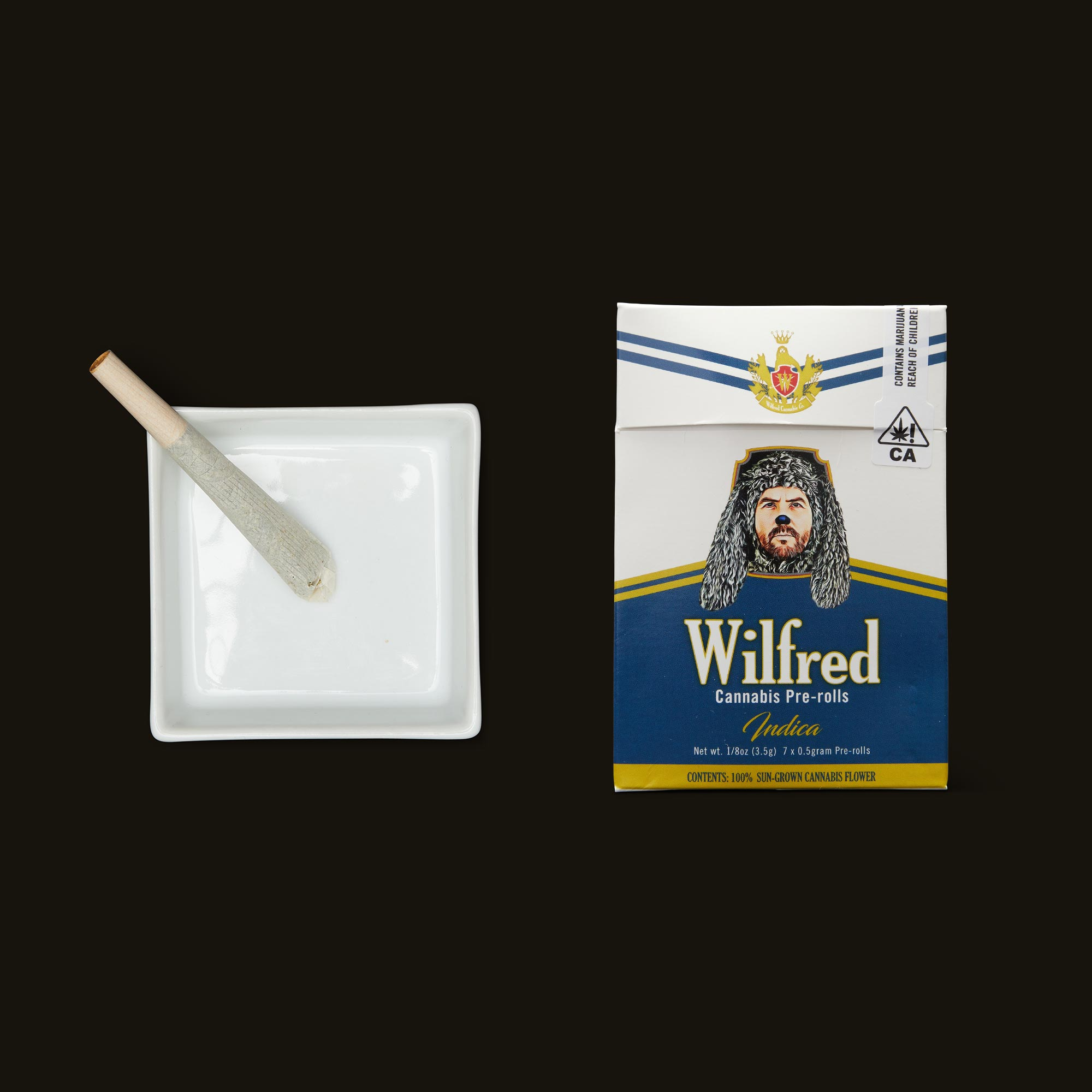 Wilfred Cannabis Indica Pre-Rolls