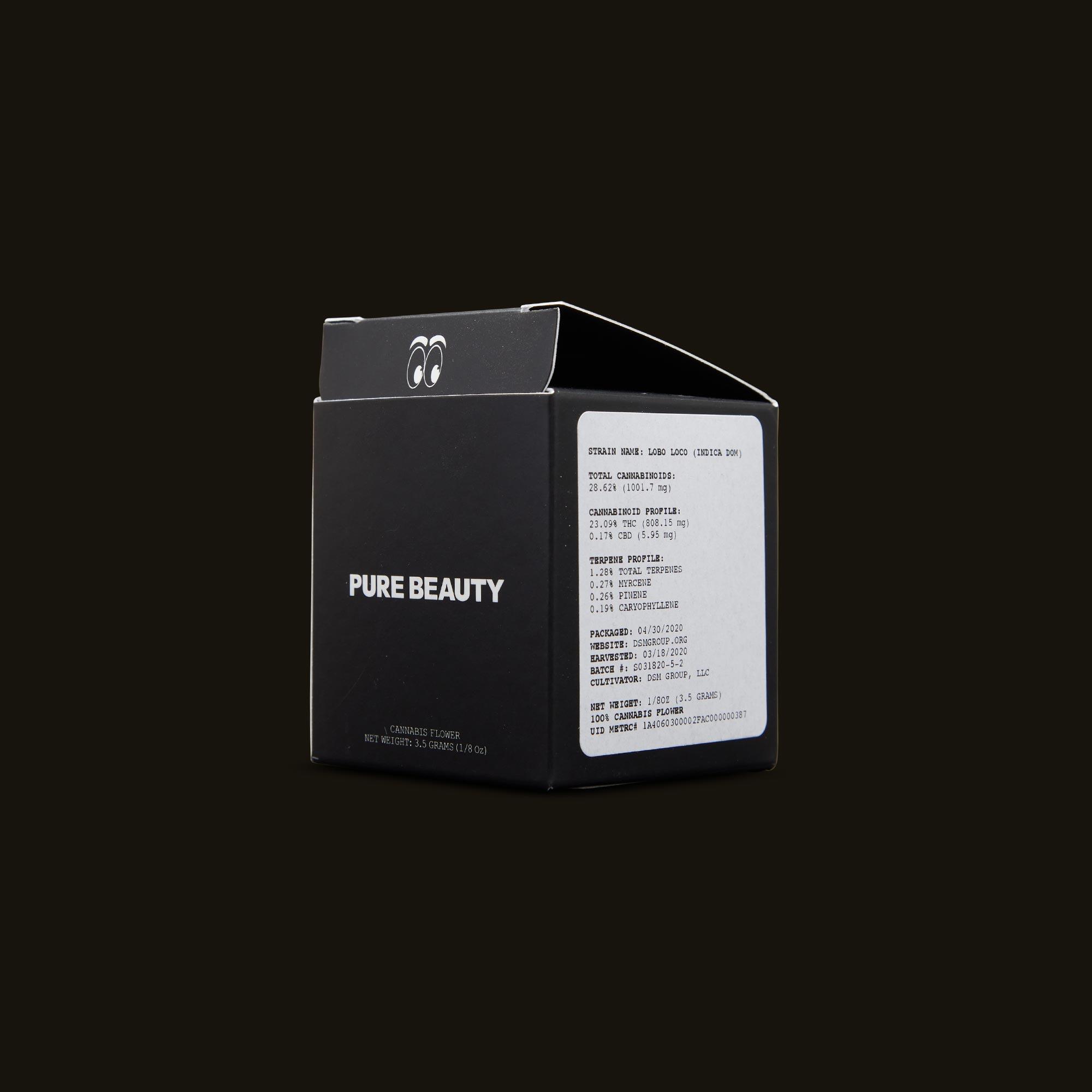 Pure Beauty Lobo Loco Side Box
