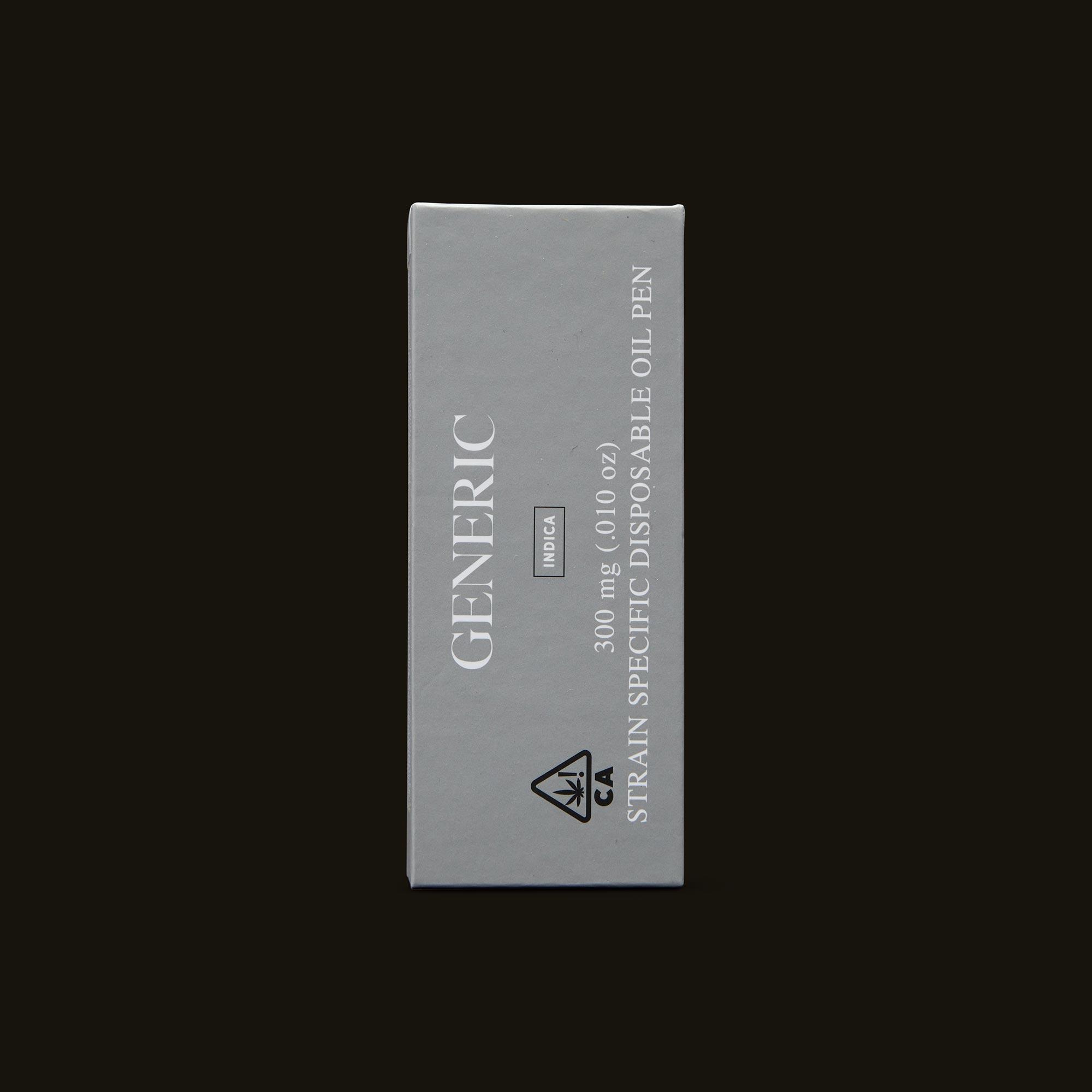 Generic Diamond OG Disposable Front Packaging
