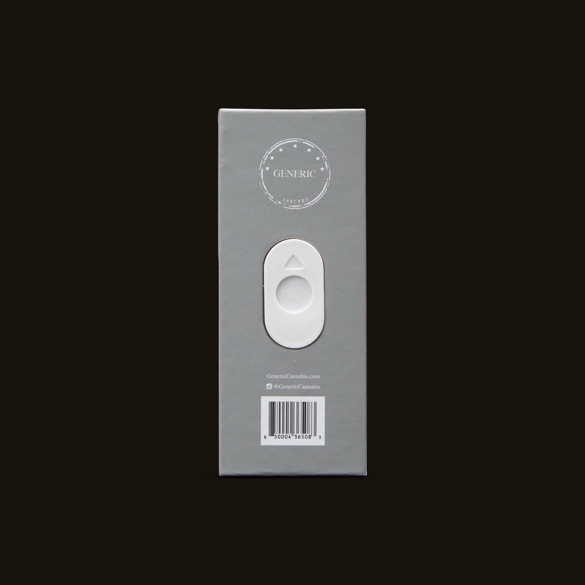 Generic Diamond OG Disposable Back Packaging