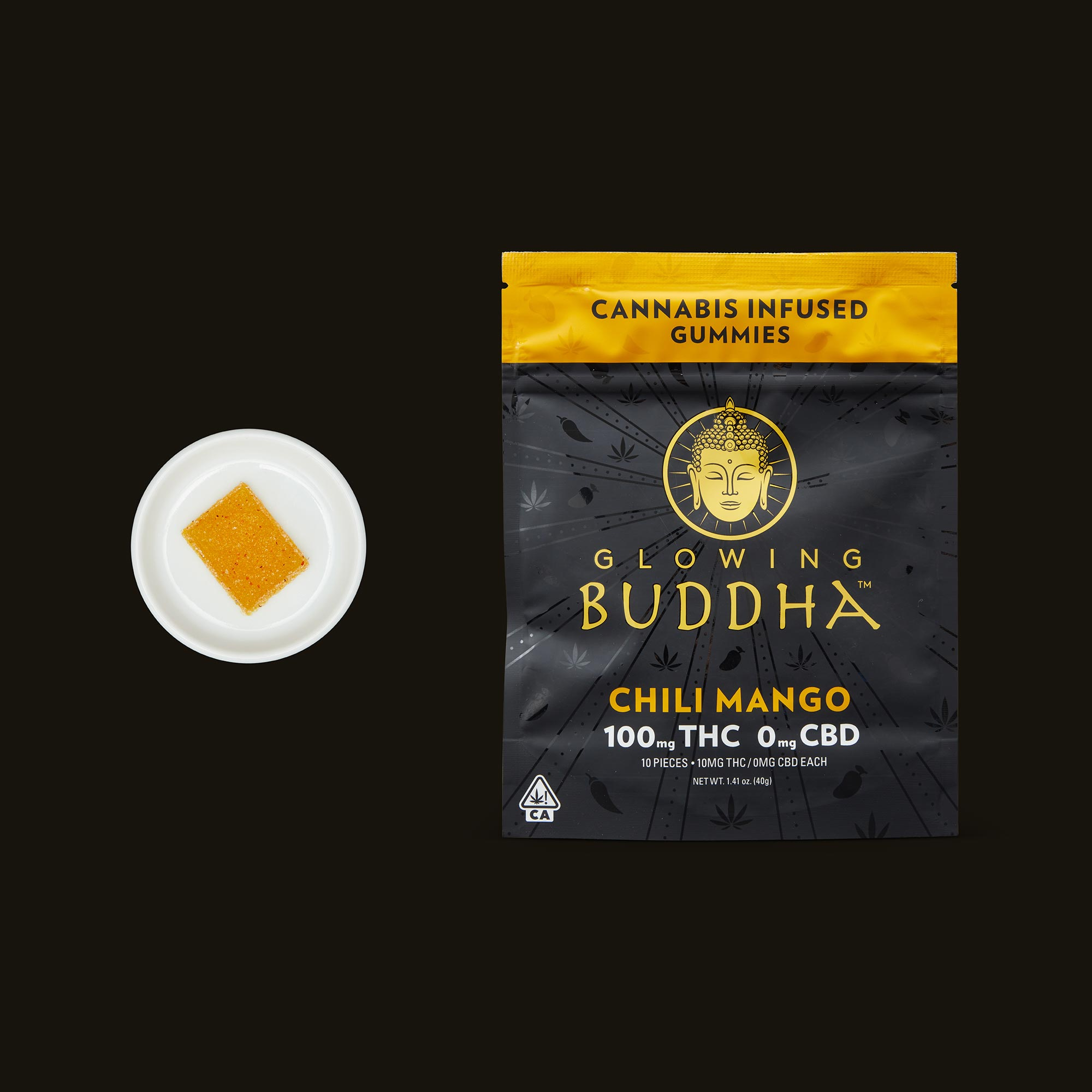 Glowing Buddha Chili Mango Gummies