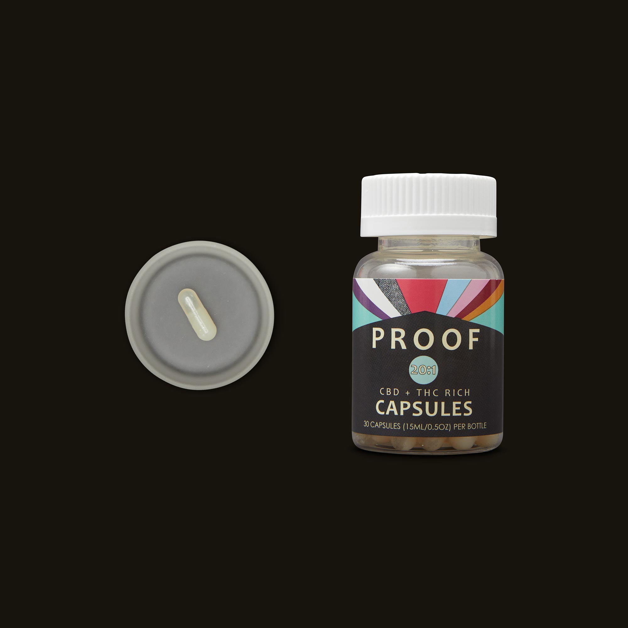 Proof 20:1 CBD:THC Capsules