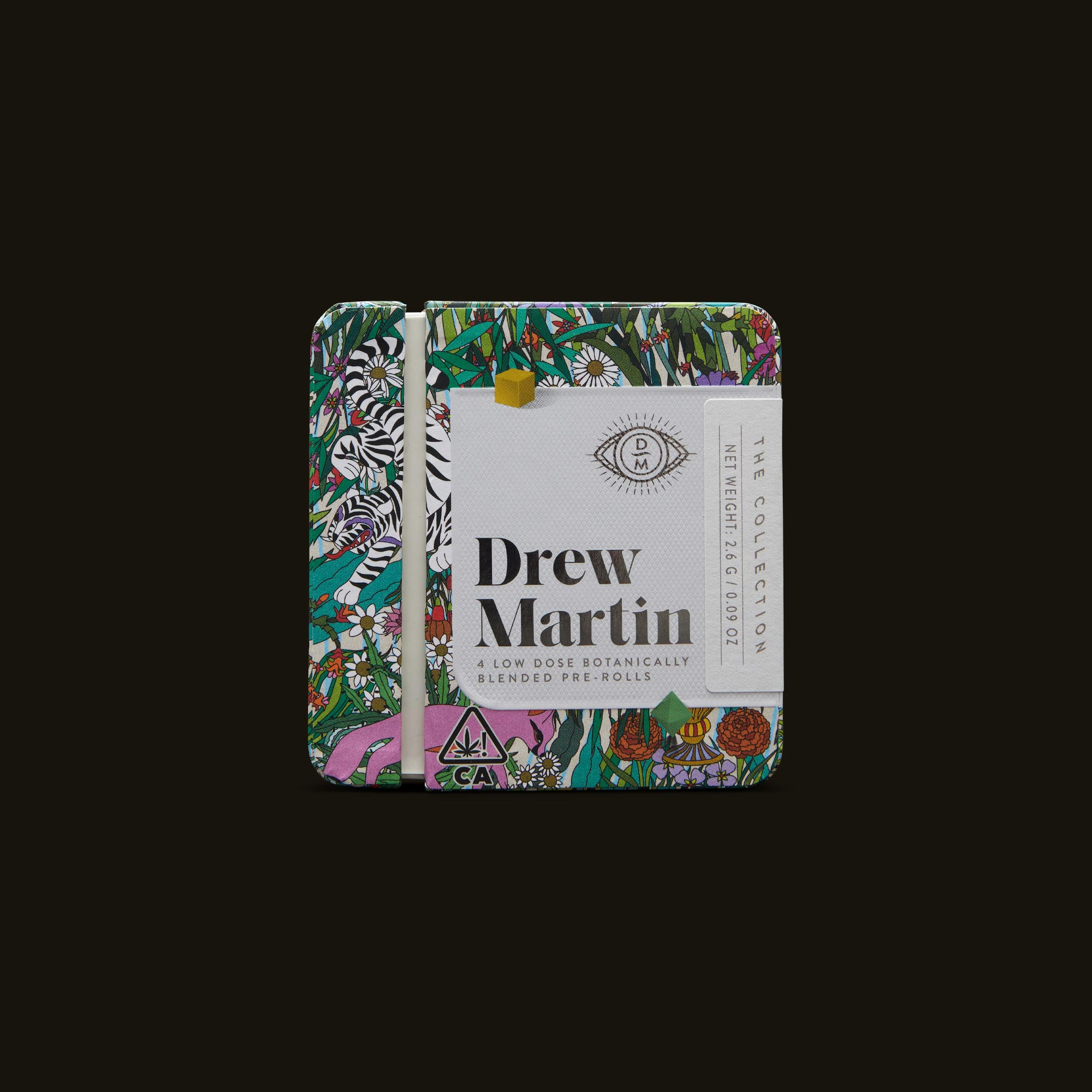 Drew Martin The Collection Pre-Rolls Front Packaging