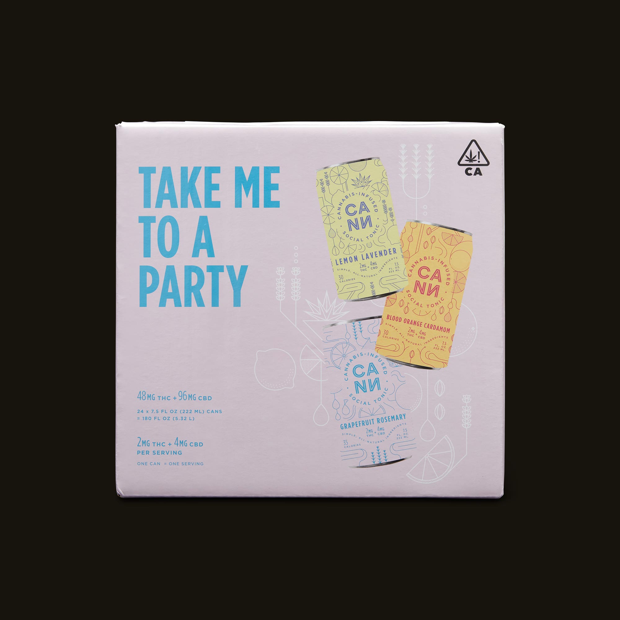 Cann The Party Pack Front